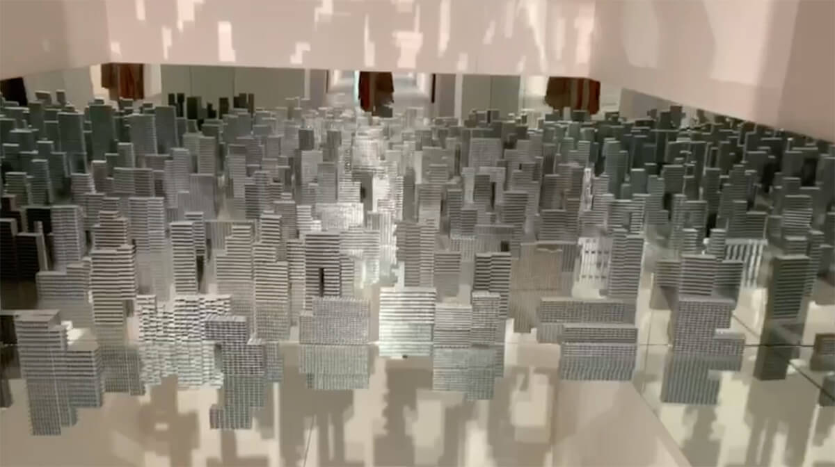 View of the installation Pervasive Expansion 1 | Silently… A Proposed Plan For Rethinking The Urban Fabric | Pooja Iranna | STIRworld