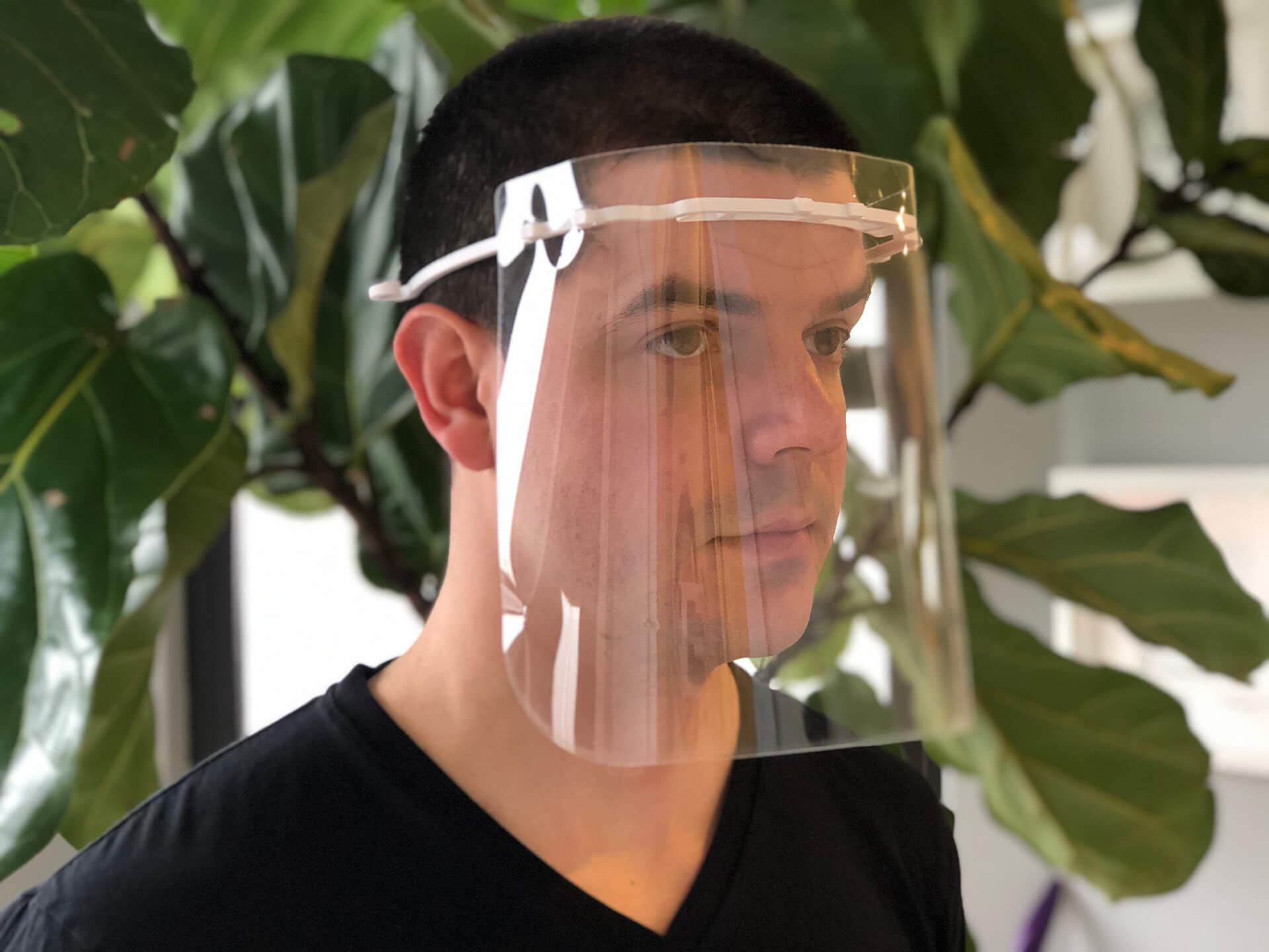 3D face shield printed in BIG's New York office | 3D face shield | BIG | STIRworld