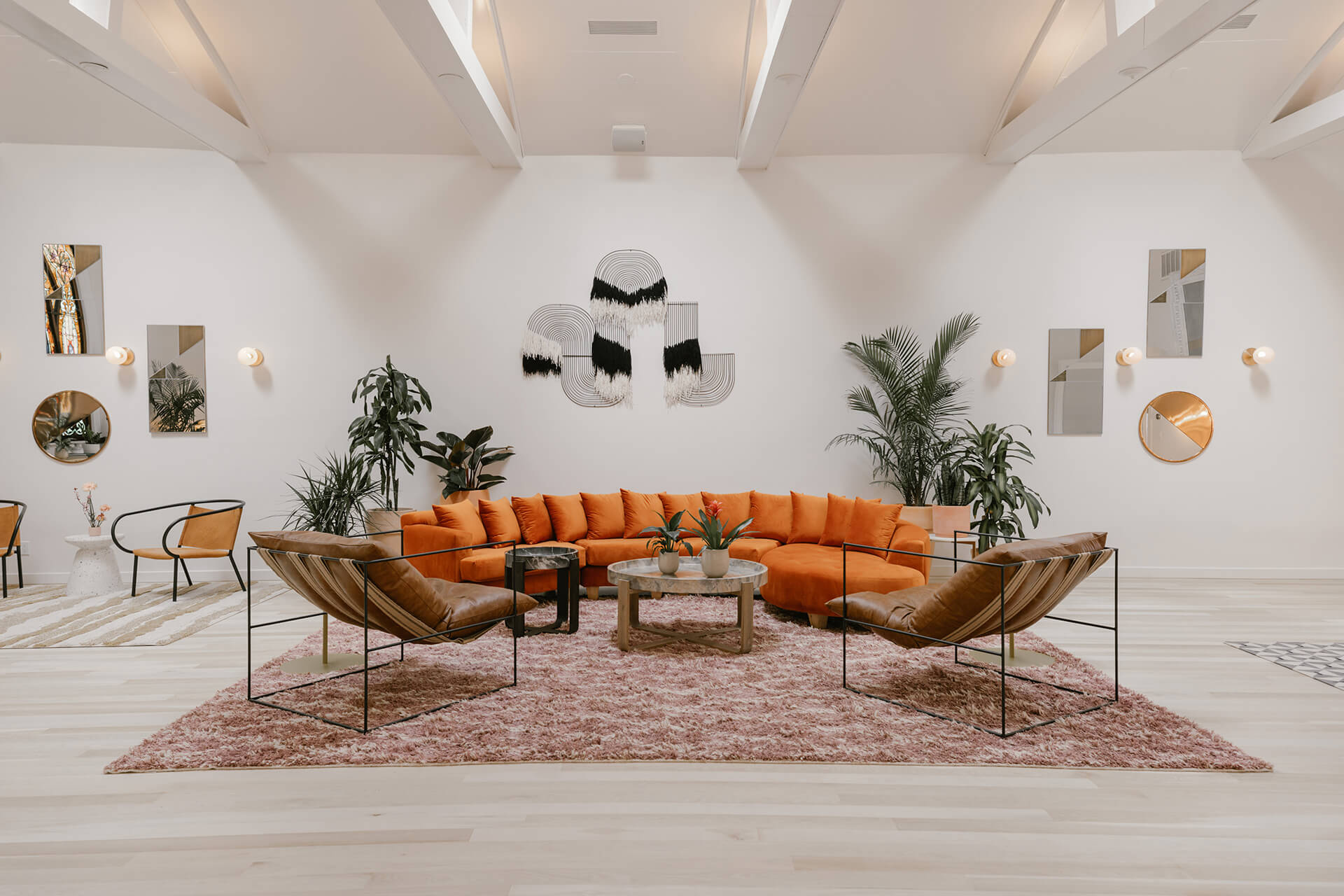 Inside The Ruby Street, a creative community hub in LA | The Ruby Street in LA is a coworking space by Working Holiday Studio and Francesca De La Fuente | STIRworld