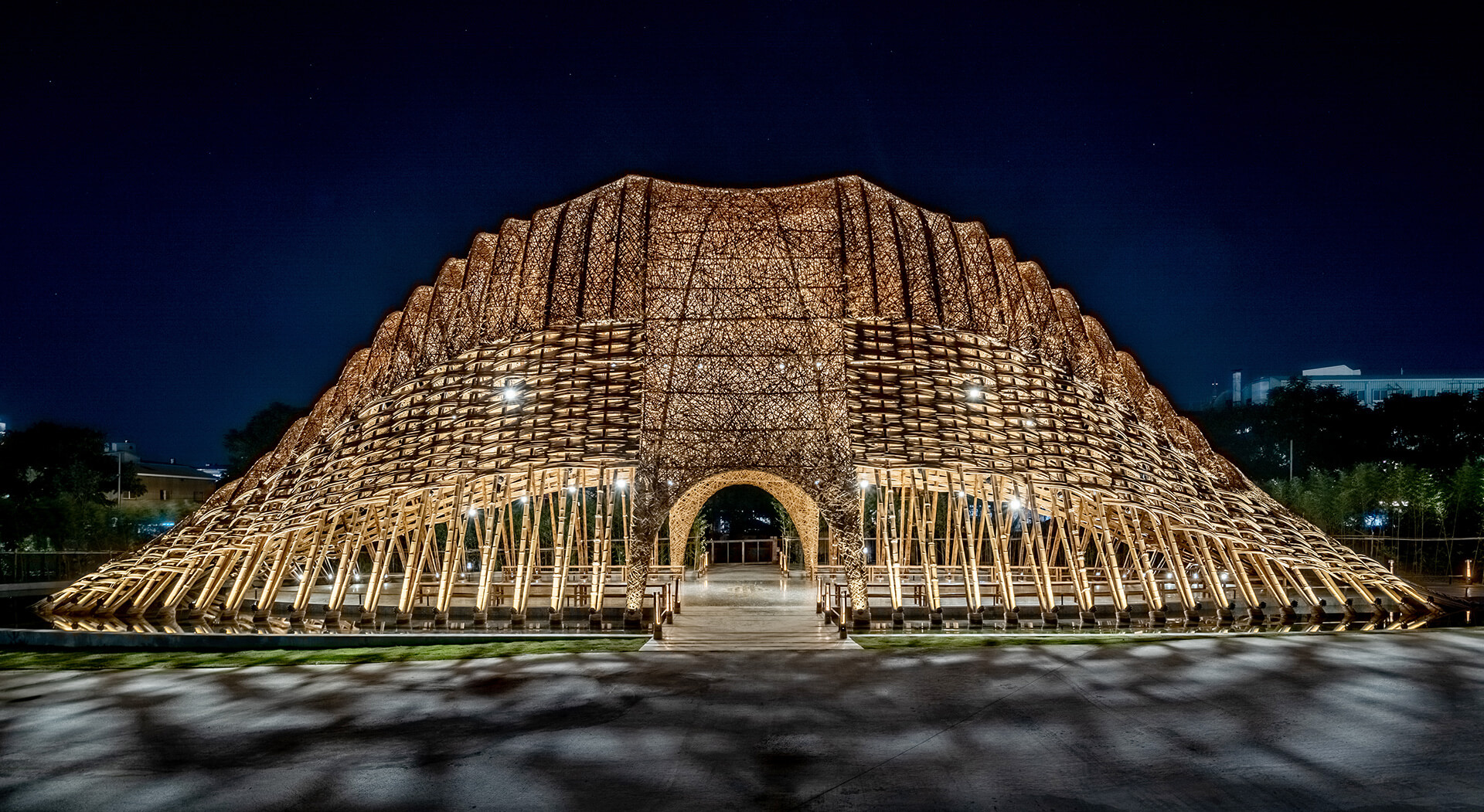 Bamboo Pavilion by Zuo Studio, created for the Taichung World Flora Exposition last year | Zuo Studio creates the Bamboo Pavilion for Taichung World Flora Exposition | STIRworld