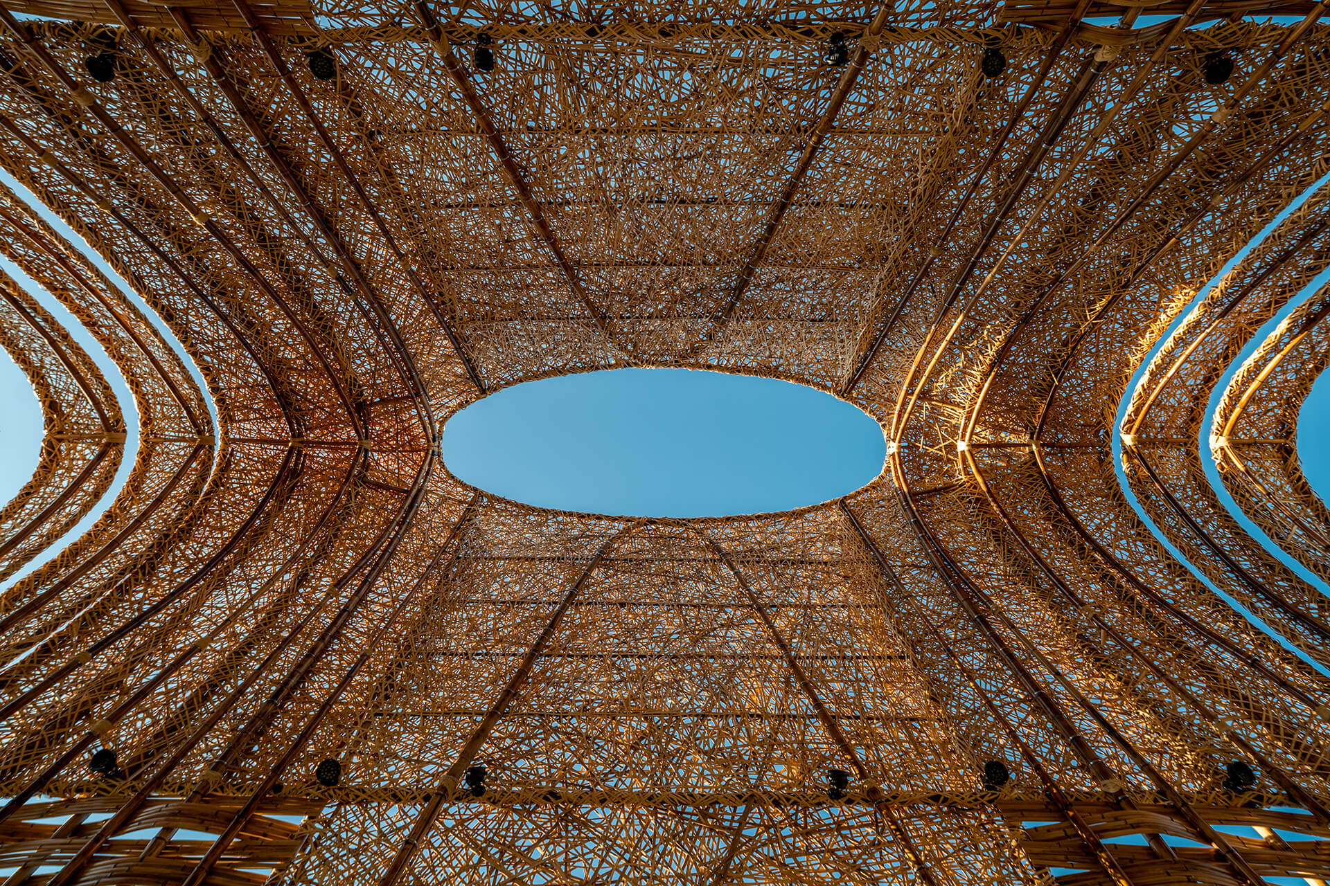 The arched pavilion has been conceived with traditional and low carbon methods | Zuo Studio creates the Bamboo Pavilion for Taichung World Flora Exposition | STIRworld