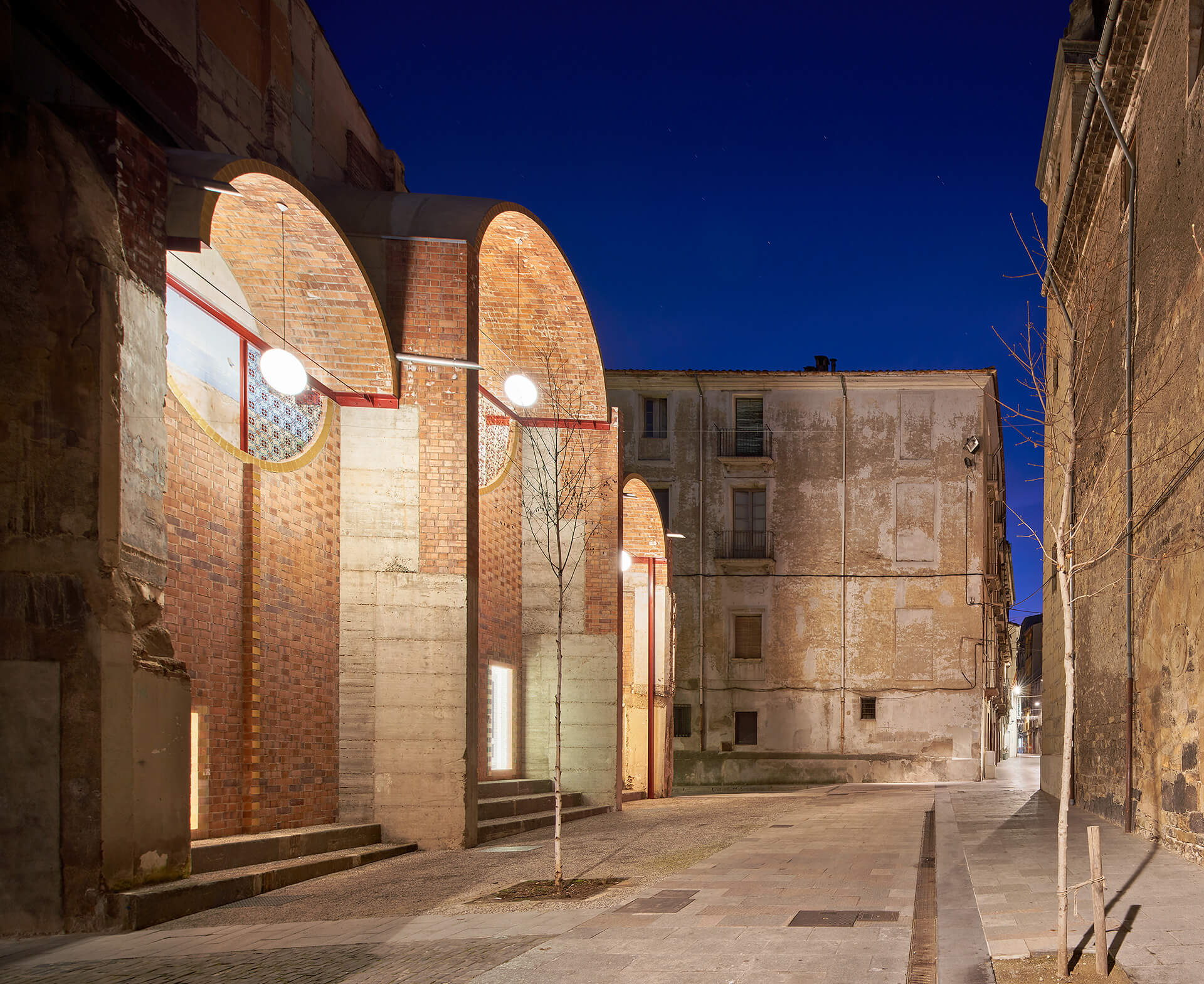 The softly illuminated space during the night | Can Sau. Emergency Scenery | unparelld'arquitectes | STIRworld