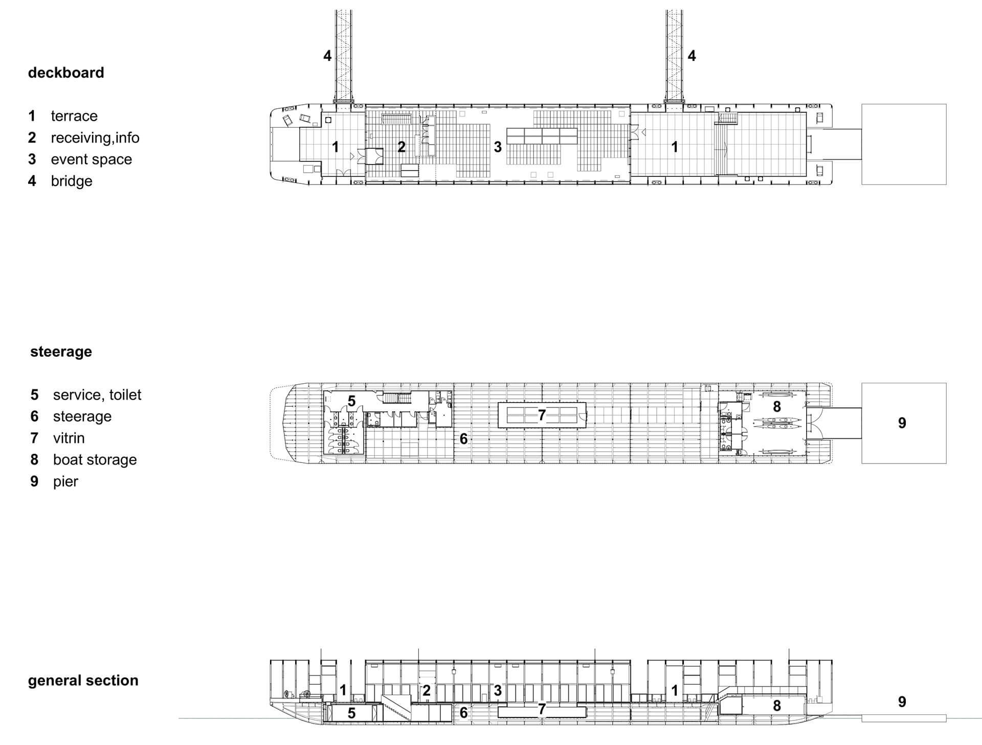Plan and Section of The Ark | The Ark | Napur Architecture | STIRworld