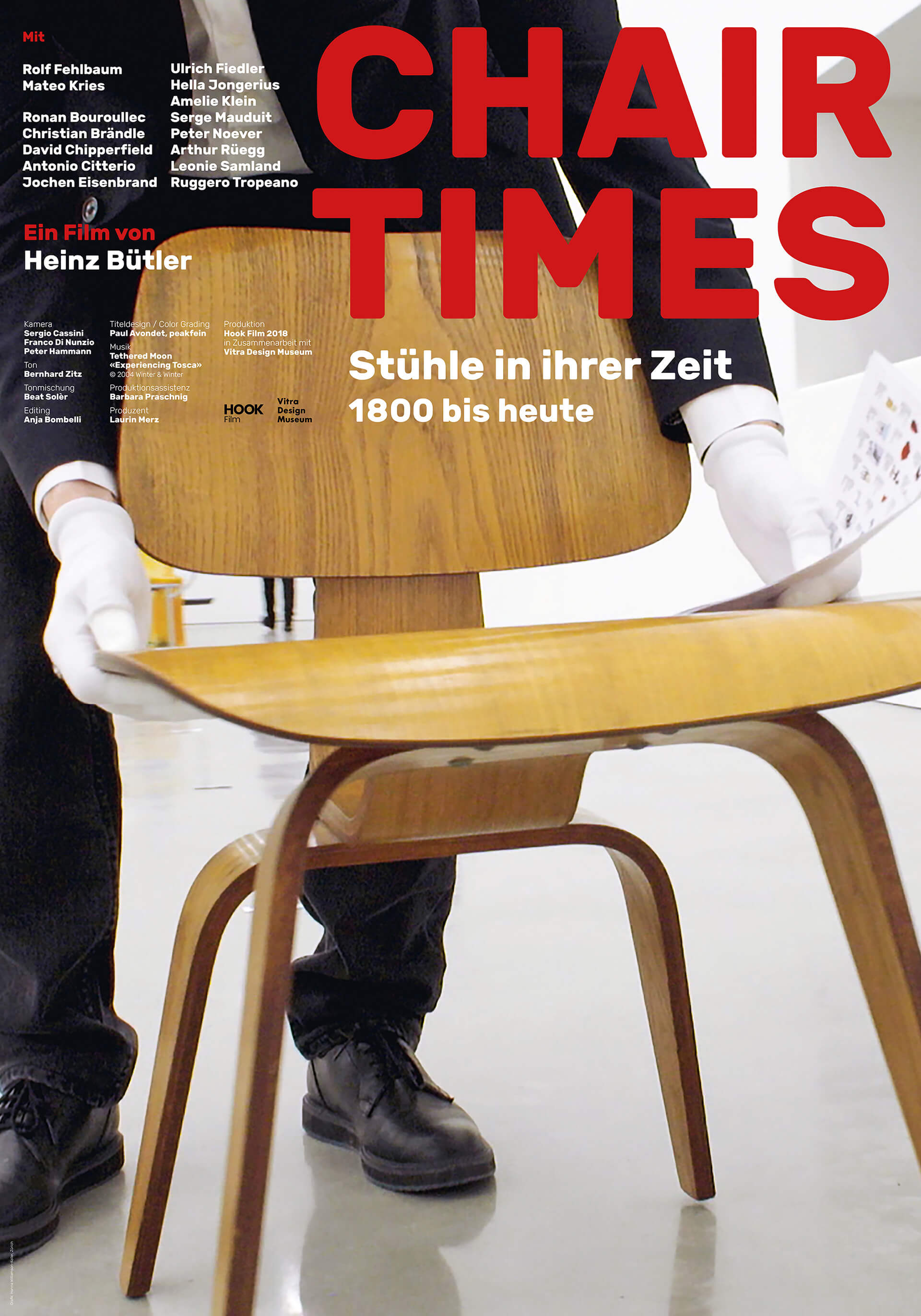 Poster of the film <em>Chair Times: A History of Seating | Chair Times | Vitra | STIRworld