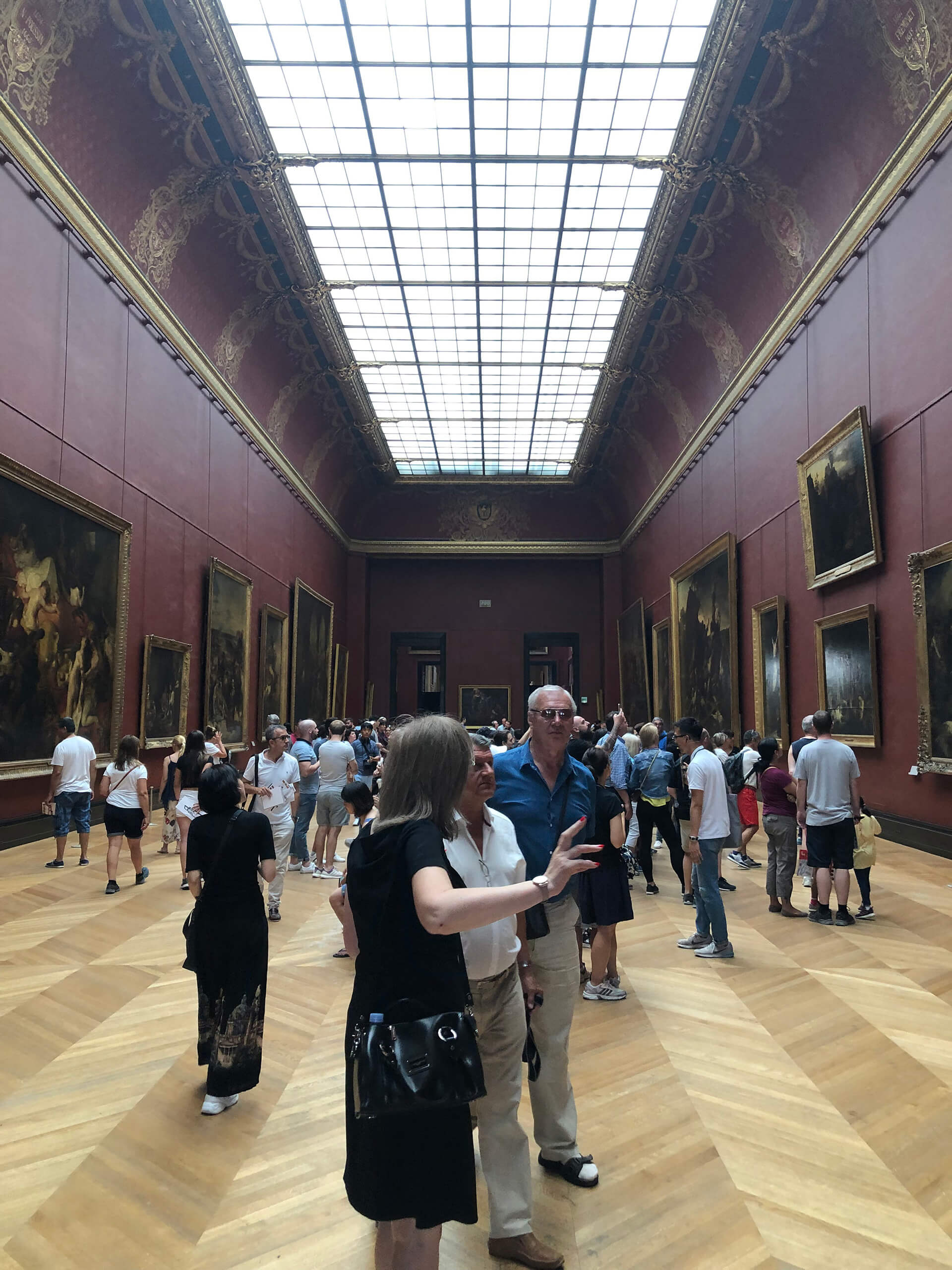 Interiors of Louvre Museum, Paris | International Museum Day 2020 (May 18) theme 'Museums for Equality: Diversity and Inclusion' | International Council of Museums | STIRworld