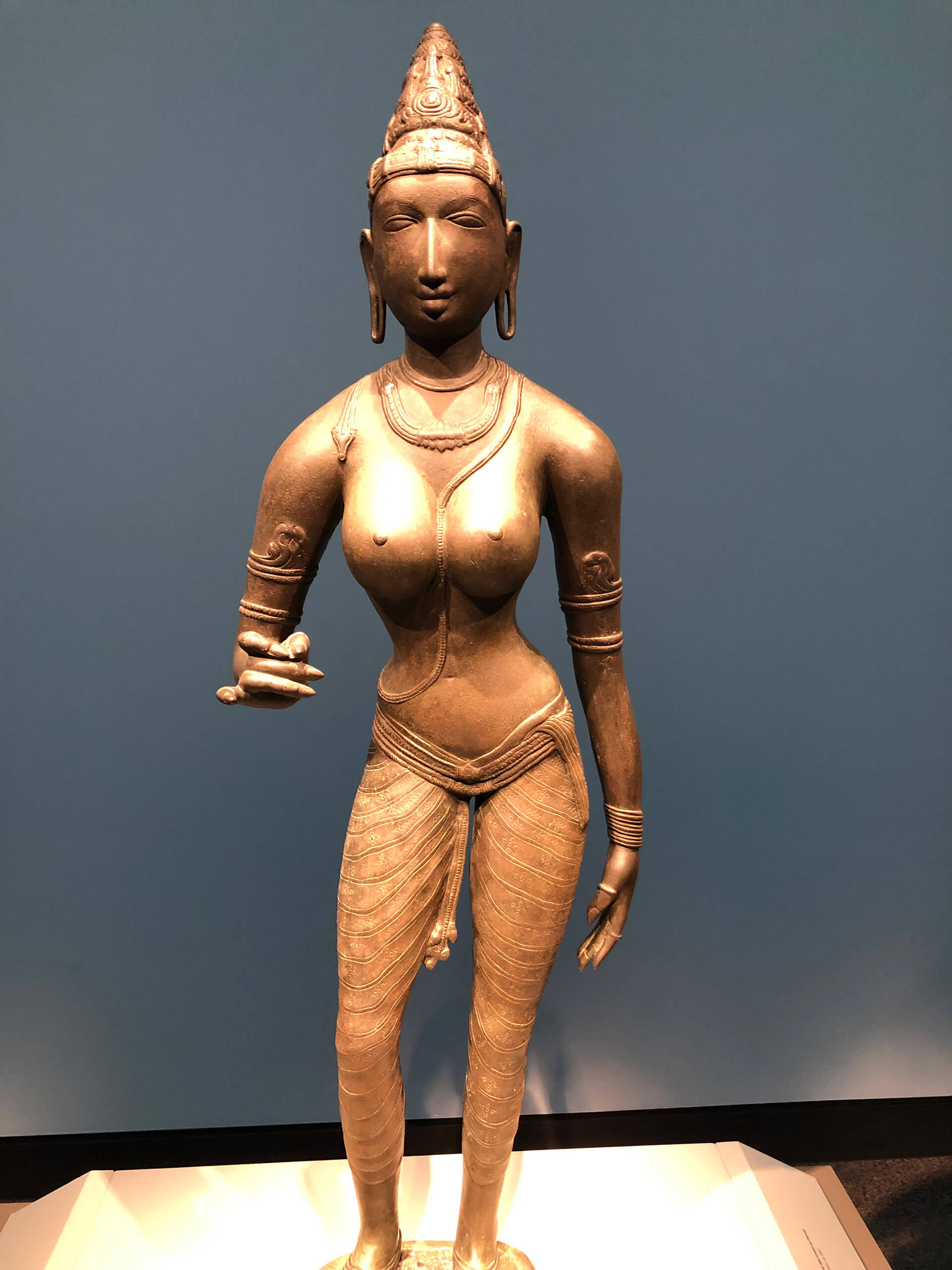 Queen Sembiyan Mahadevi as the Goddess Parvati, National Museum of Asian Art, Smithsonian Museum, Washington, D.C. | International Museum Day 2020 (May 18) theme 'Museums for Equality: Diversity and Inclusion' | International Council of Museums | STIRworld