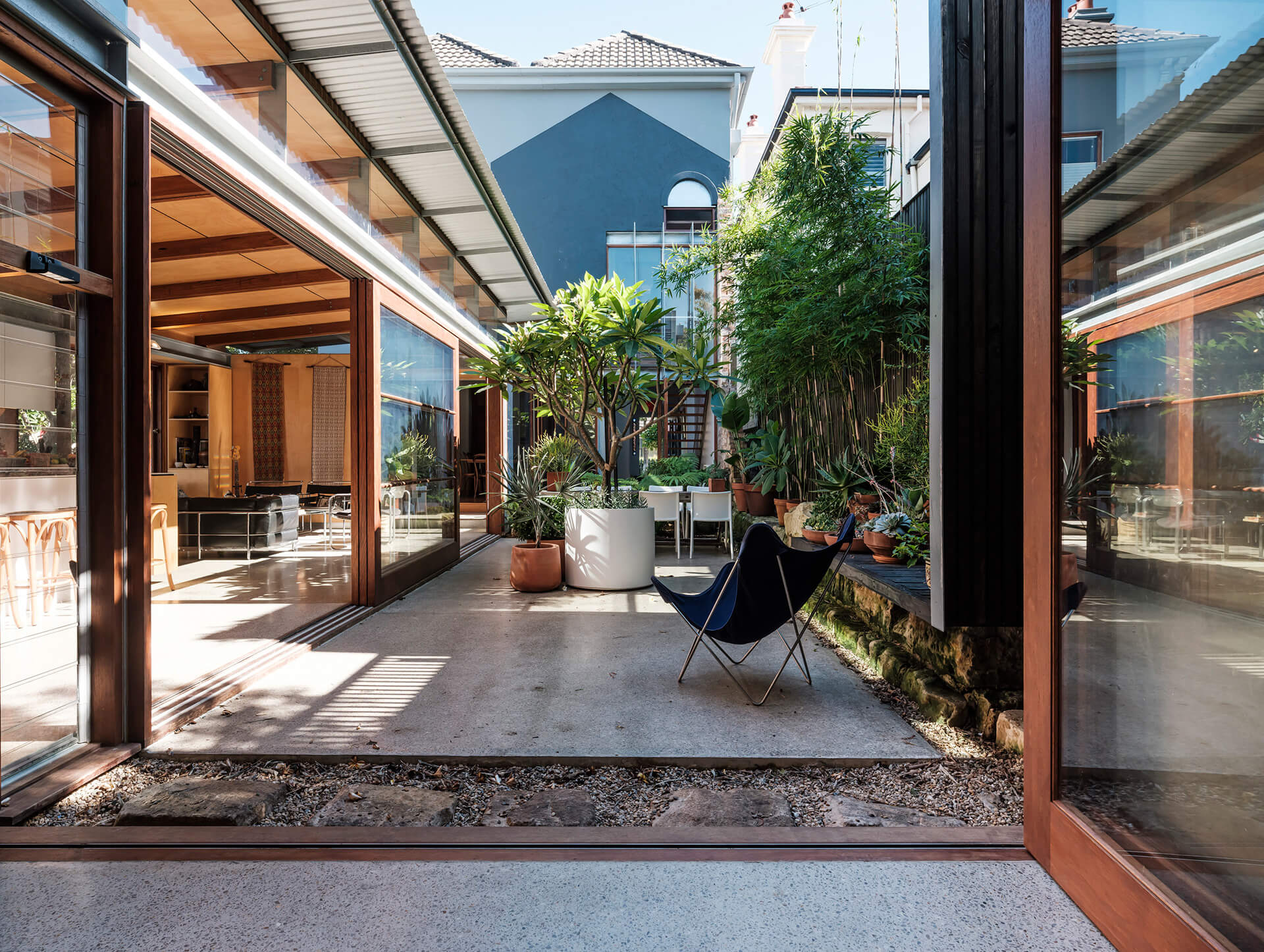The courtyard inspired from 'riad' – a Moroccan house typology | Courtyard House by COX Architecture | STIRworld