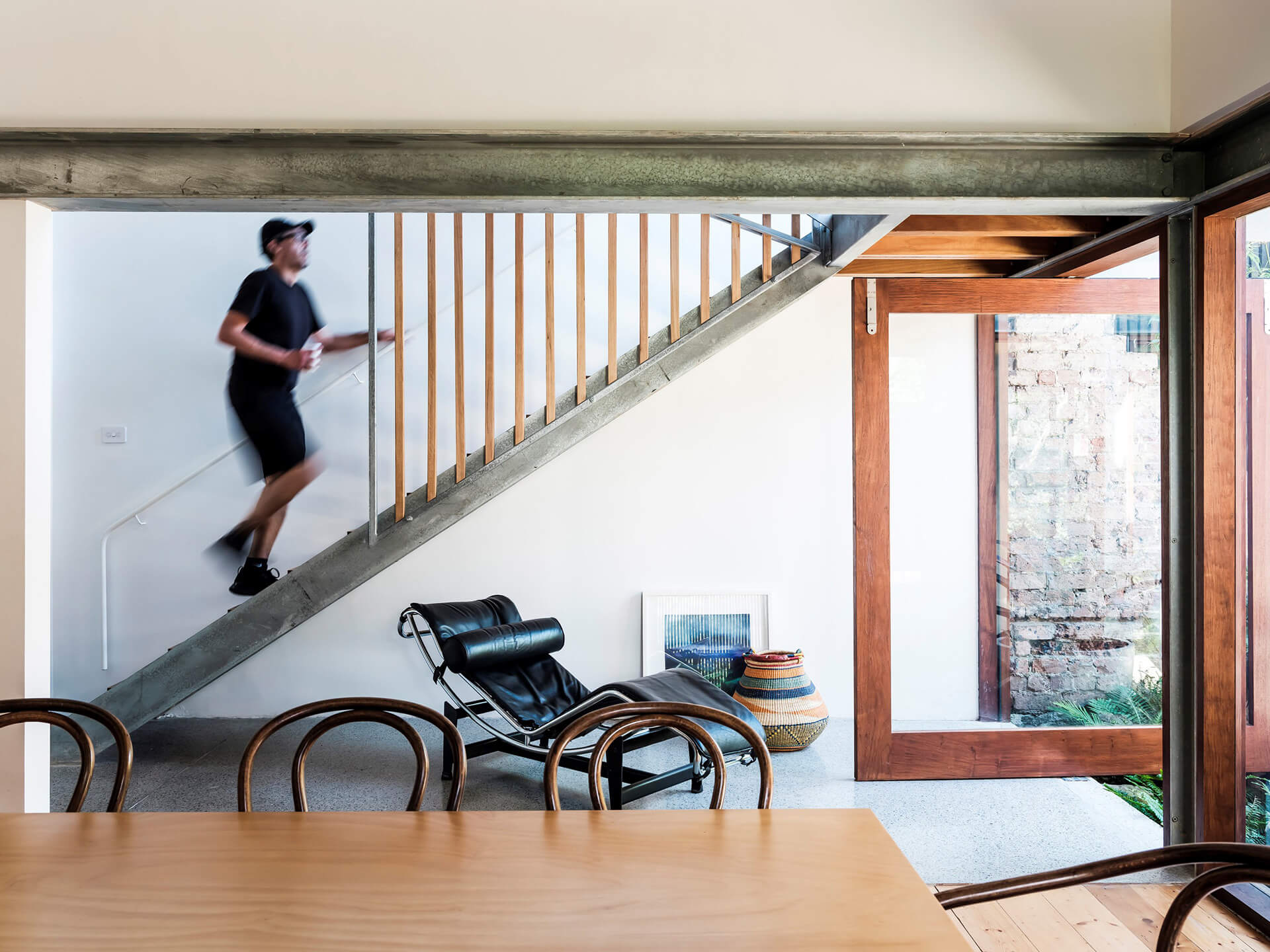 Elements of the new and old combined | Courtyard House by COX Architecture | STIRworld