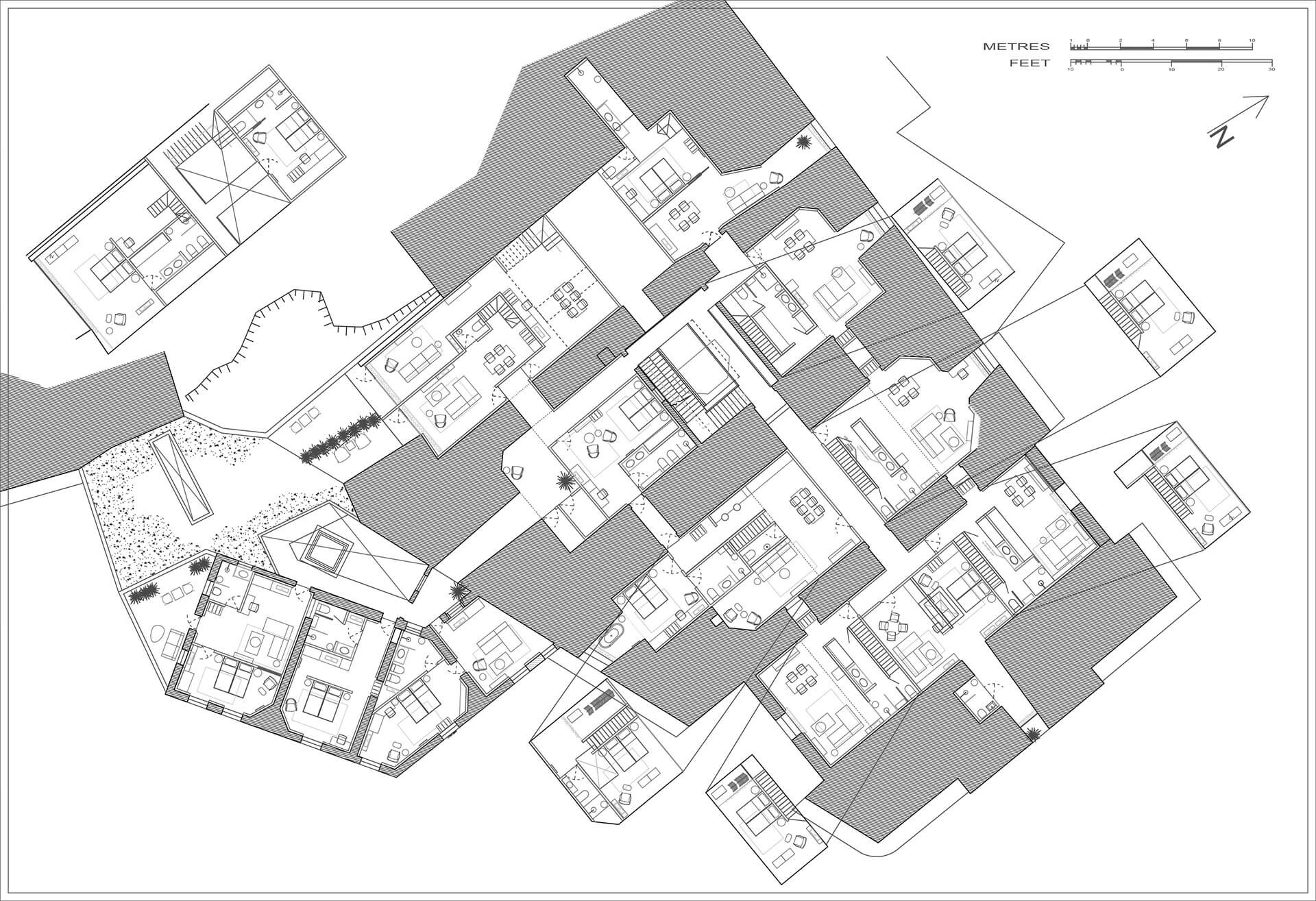 Layout plan | DAAA Haus wins German Design Award 2020 for Cugó Gran Macina Grand Harbour | STIRworld