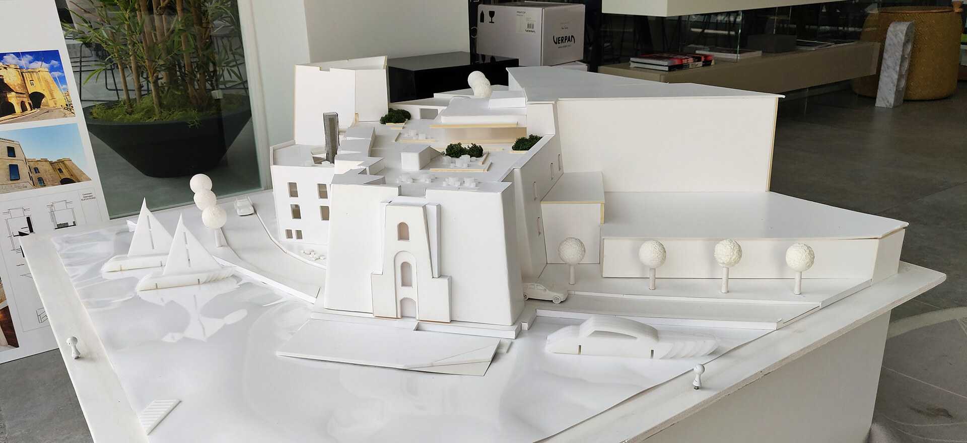 Model of the Cugó Gran Macina Grand Harbour | DAAA Haus wins German Design Award 2020 for Cugó Gran Macina Grand Harbour | STIRworld