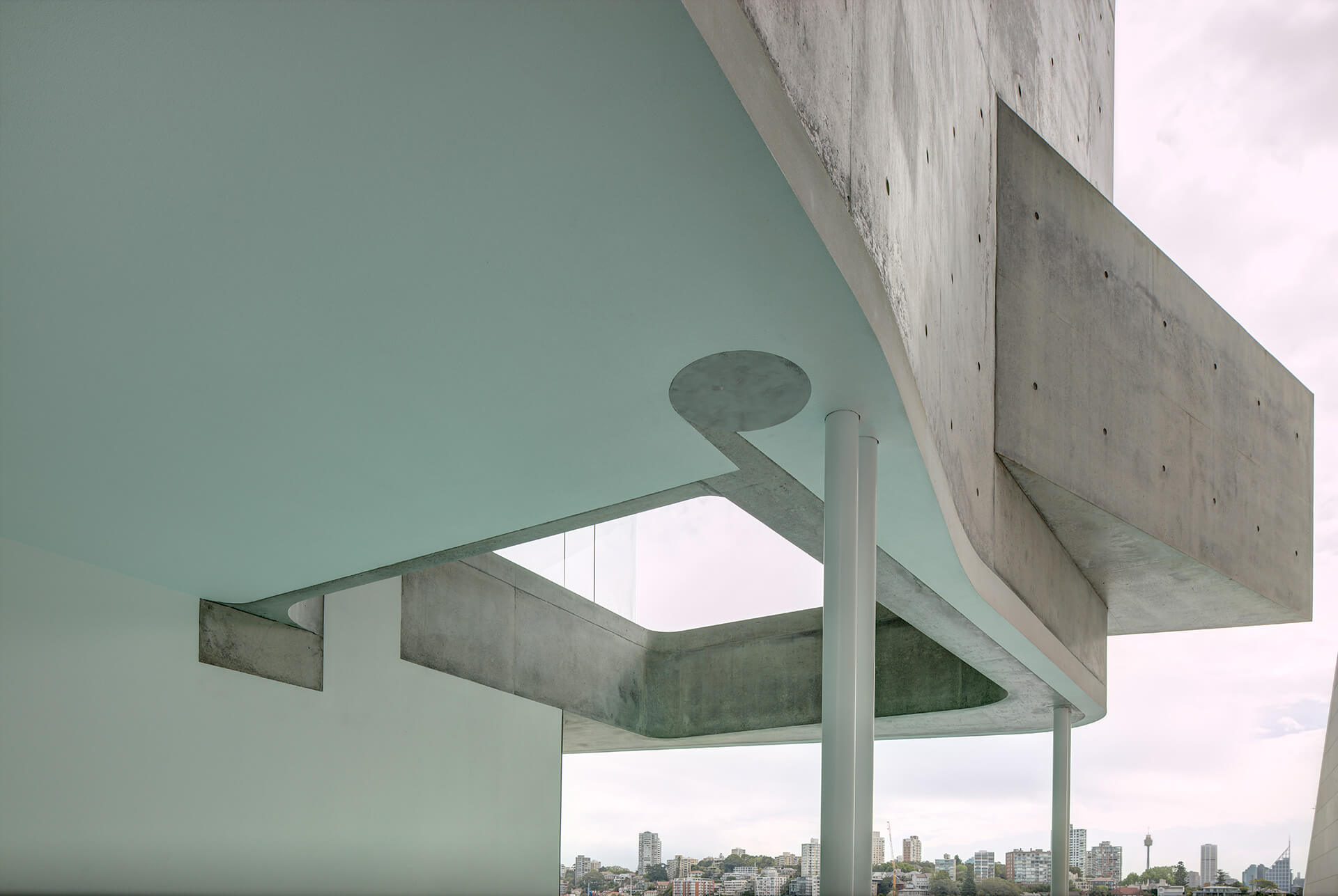 The punctures through the building create framed views | House Taurus | Durbach Block Jaggers Architects | STIRworld