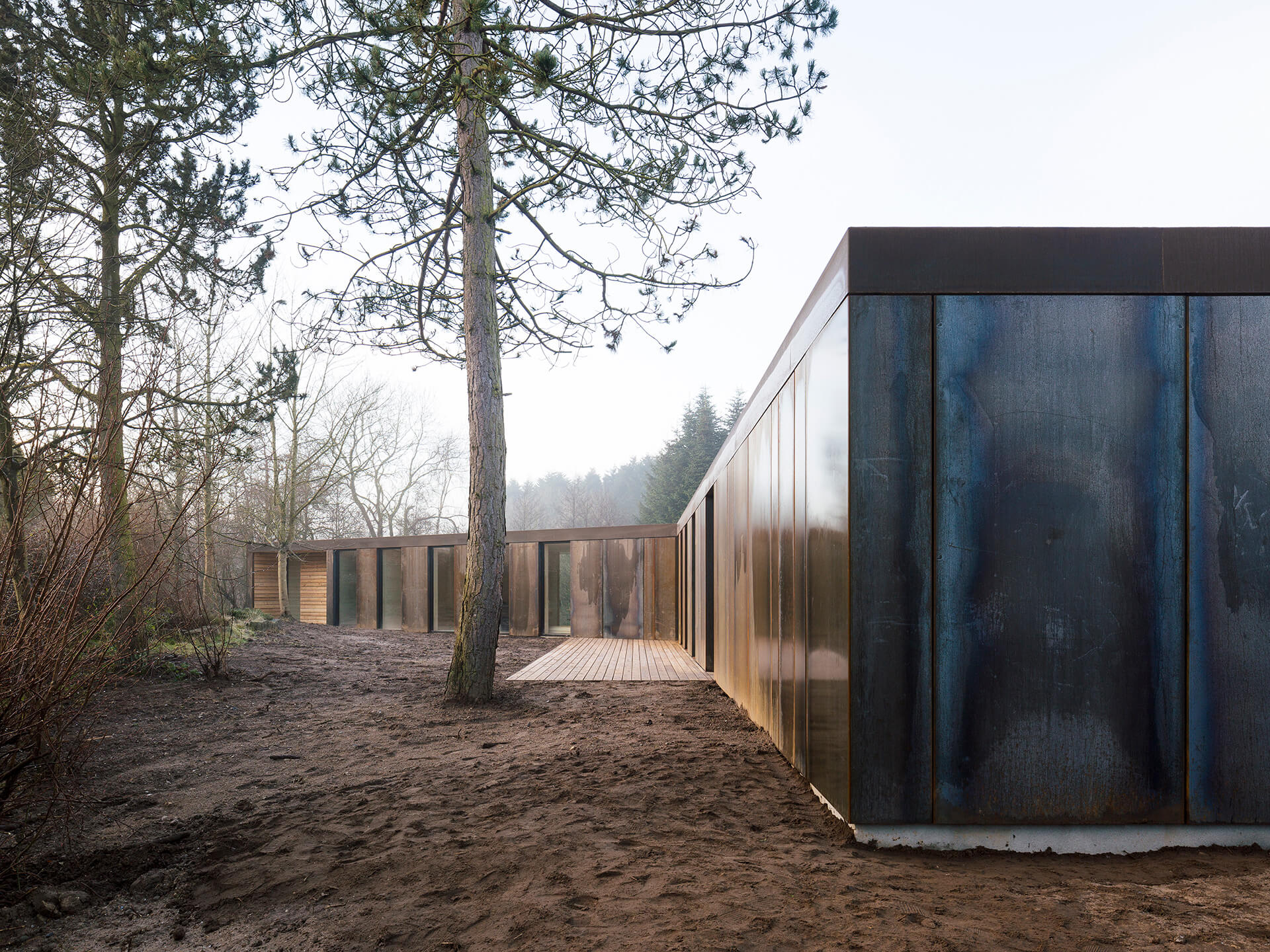 Villa Korup was built in just three days, using prefabrication construction methods | Villa Korup designed by Jan Henrik Jansen Arkitekter with Marshall Blecher | STIRworld