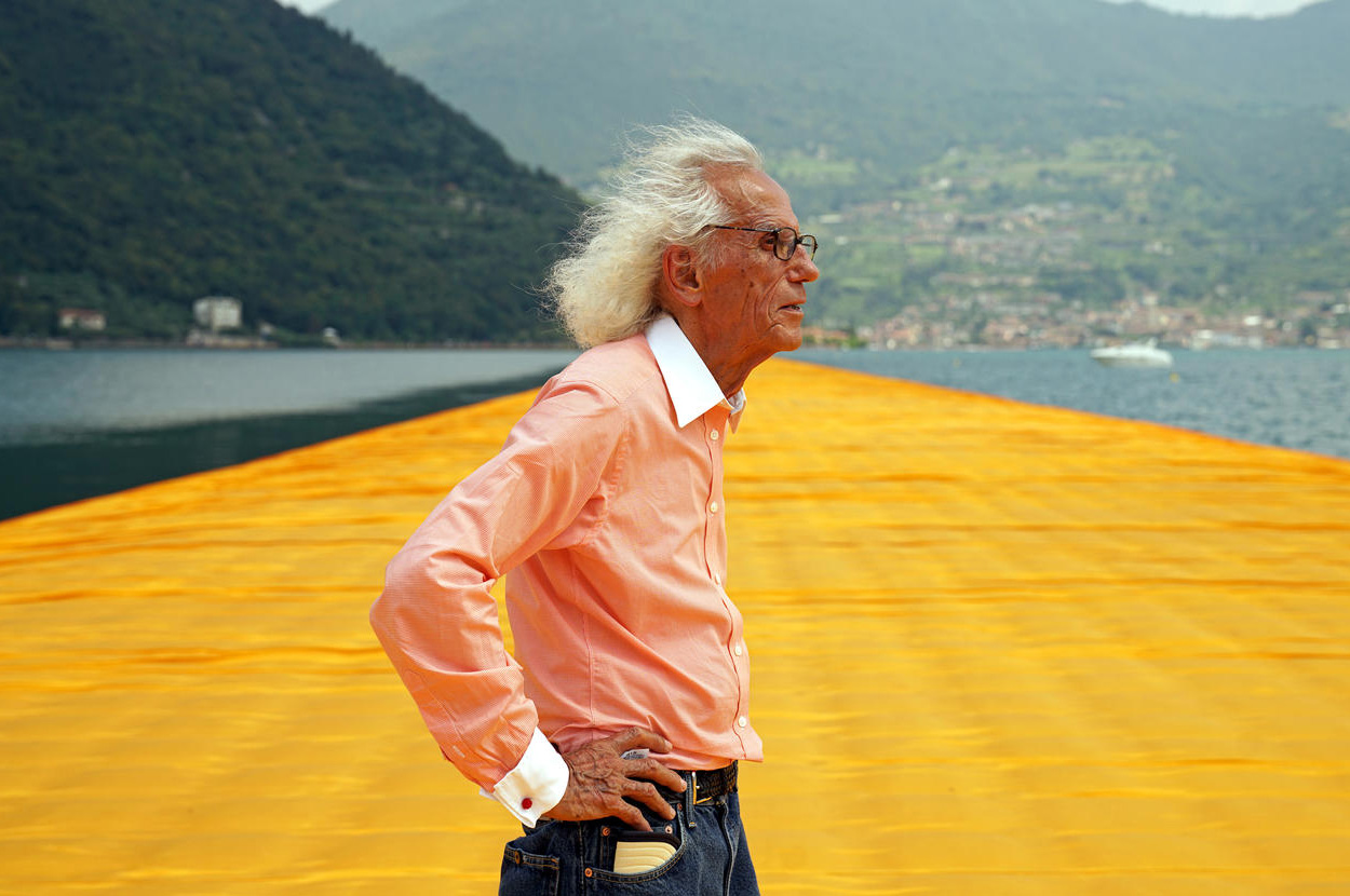 Artist Christo Vladimirov Javacheff | The Floating Piers by Christo and Jeanne-Claude | STIRworld