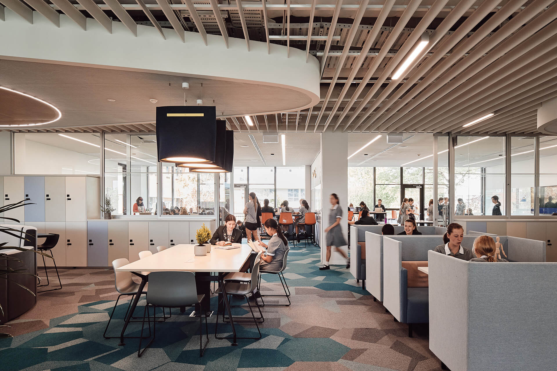 Flexible spaces for practice learning | MLC Nicholas Learning Centre by Mcildowie Partners | STIRworld