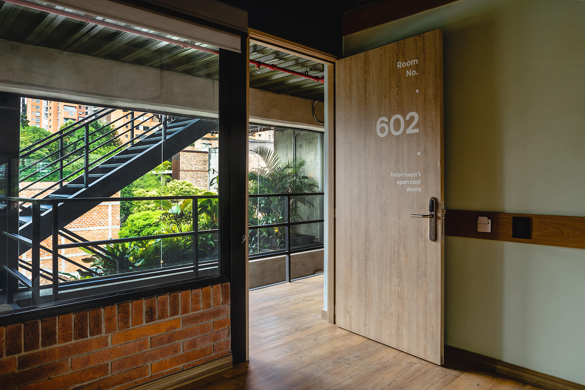 Looking towards the corridor | A5 Arquitectura |  Medellín, Colombia | STIRworld