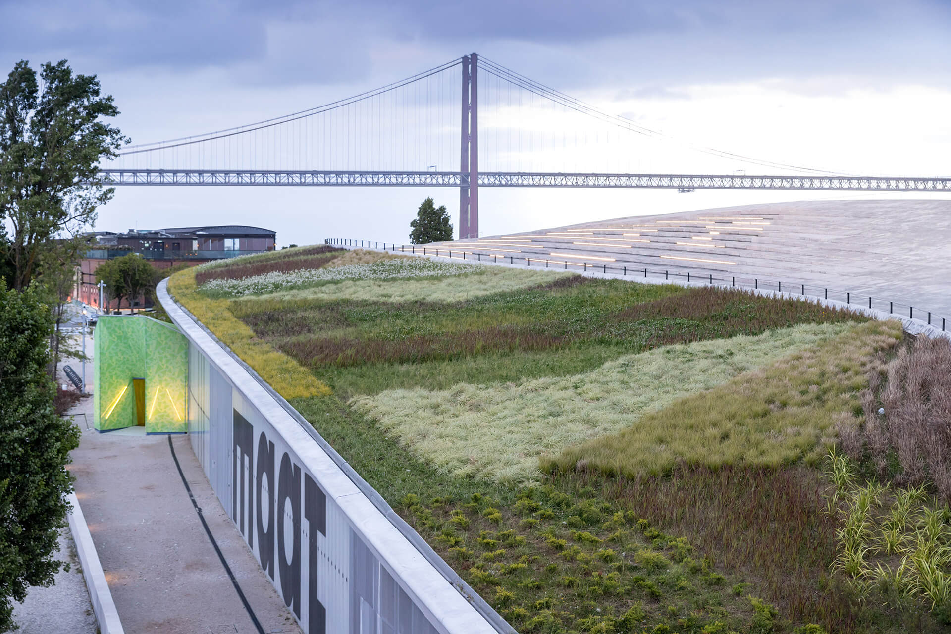 A view of the Museum of Art, Architecture and Technology (MAAT) in Lisbon | MAAT | Lisbon, Portugal | STIRworld