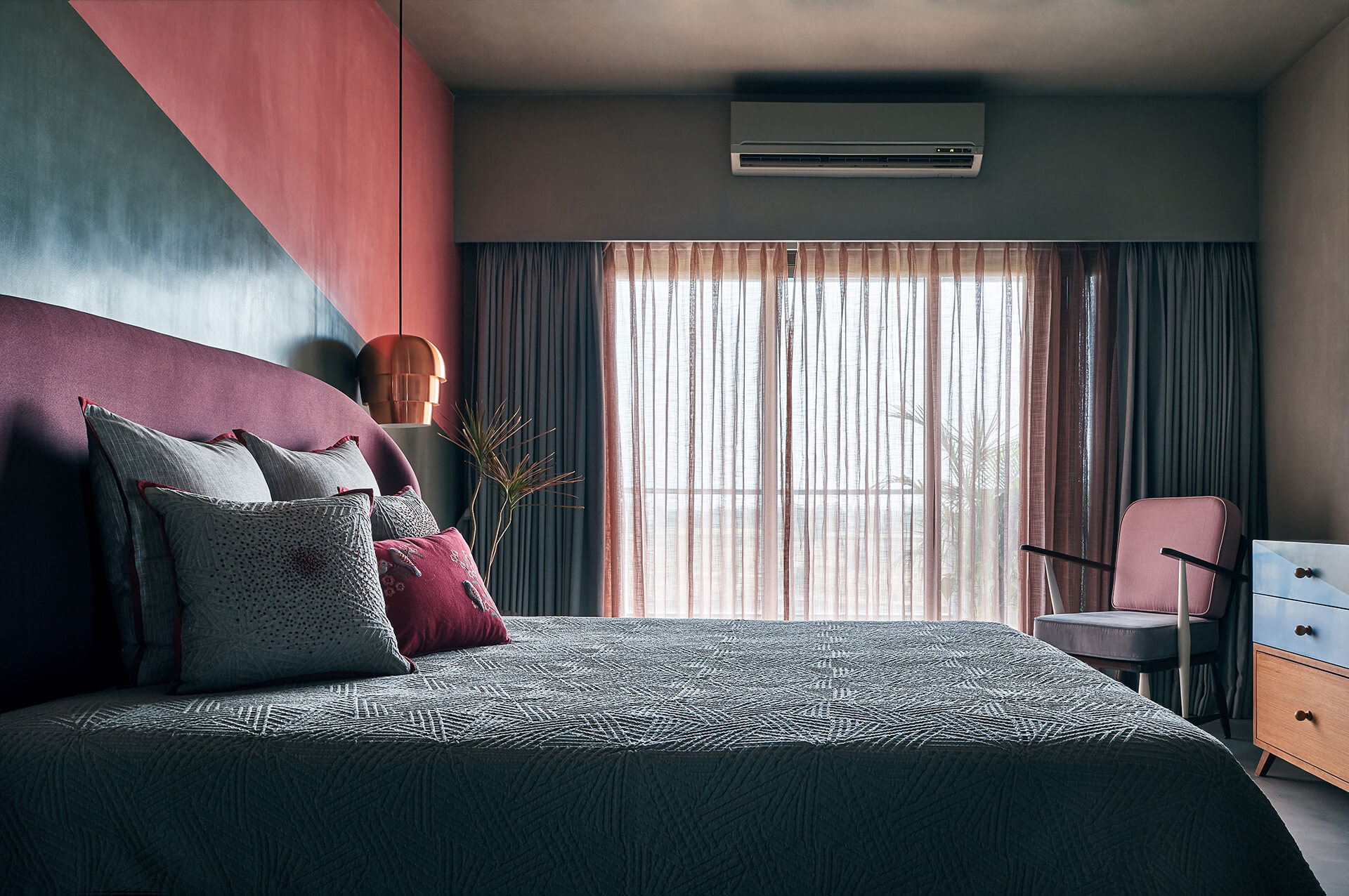 Daylight hitting the bed customised from Magari in the kid's bedroom | Ash Abode designed by FADD Studio | STIRworld