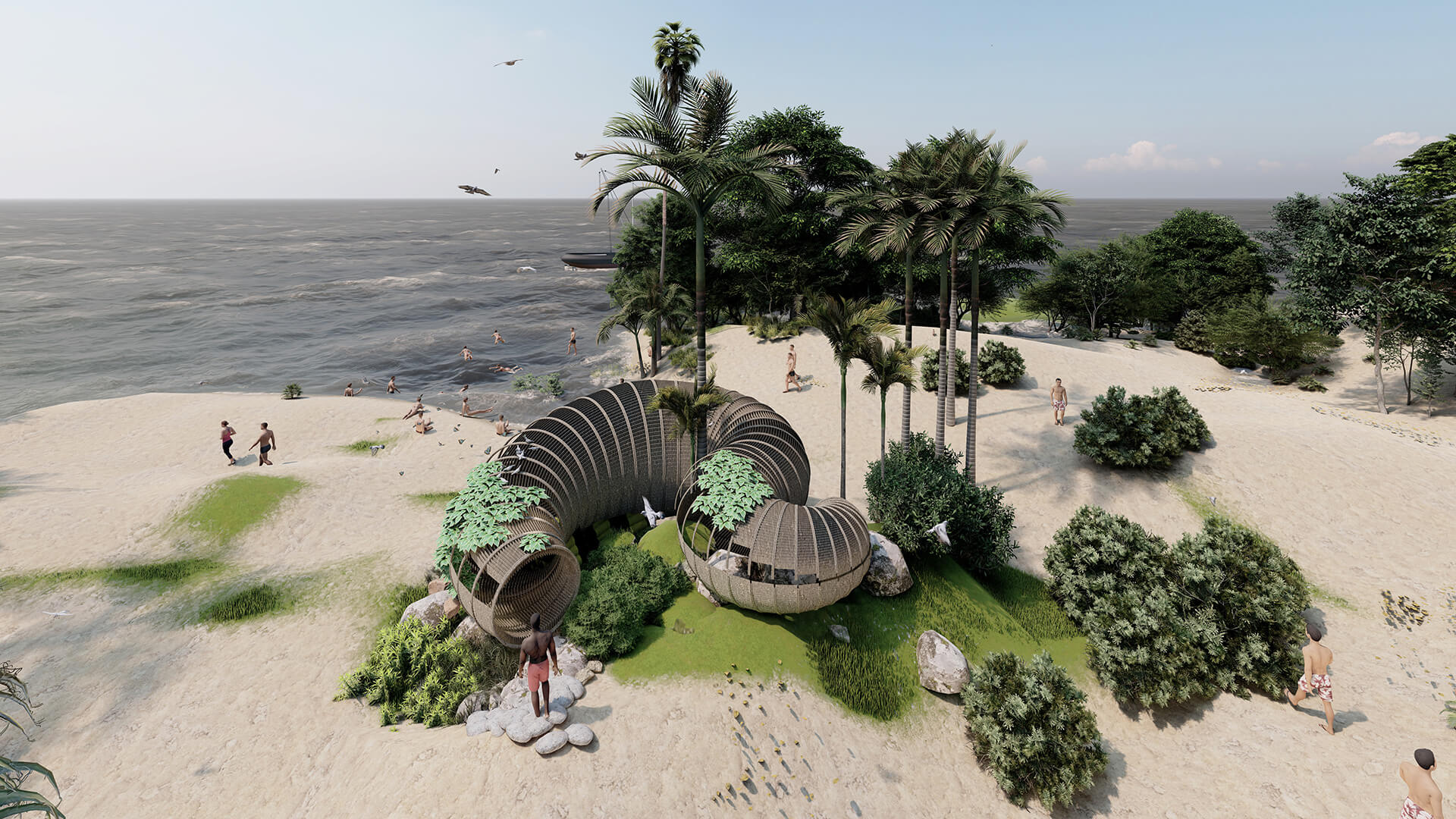 The Beach Hut is reminiscent of the existing beach huts on Candolim beach in Goa | Beach Hut | Busride Design Studio | STIRworld