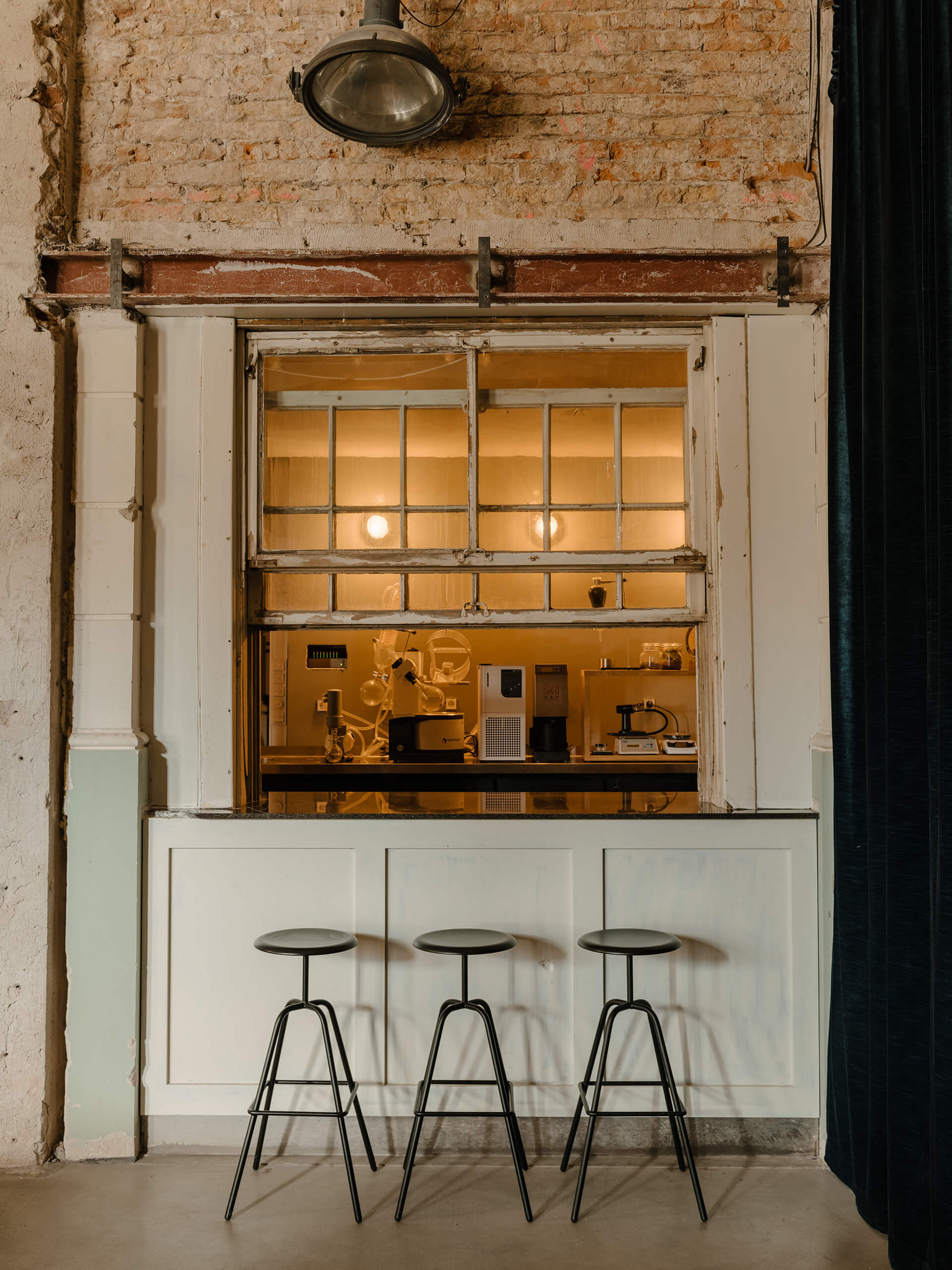 KINK's in-house laboratory | KINK Bar and Restaurant by Oliver Mansaray and Daniel Scheppan | STIRworld
