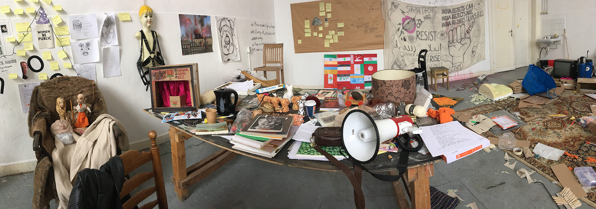 A peek into the studio of the young artist | Sarah Naqvi | STIRworld
