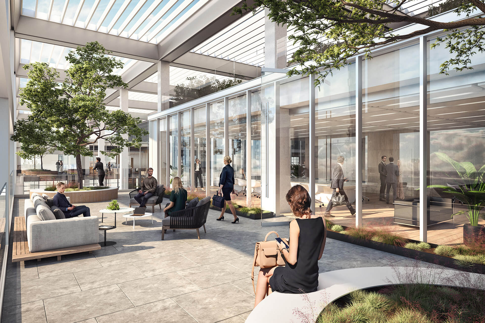 The spaces allow for maximum daylight to reduce the use of artificial heating and cooling | Icône office complex | Foster + Partners | STIRworld