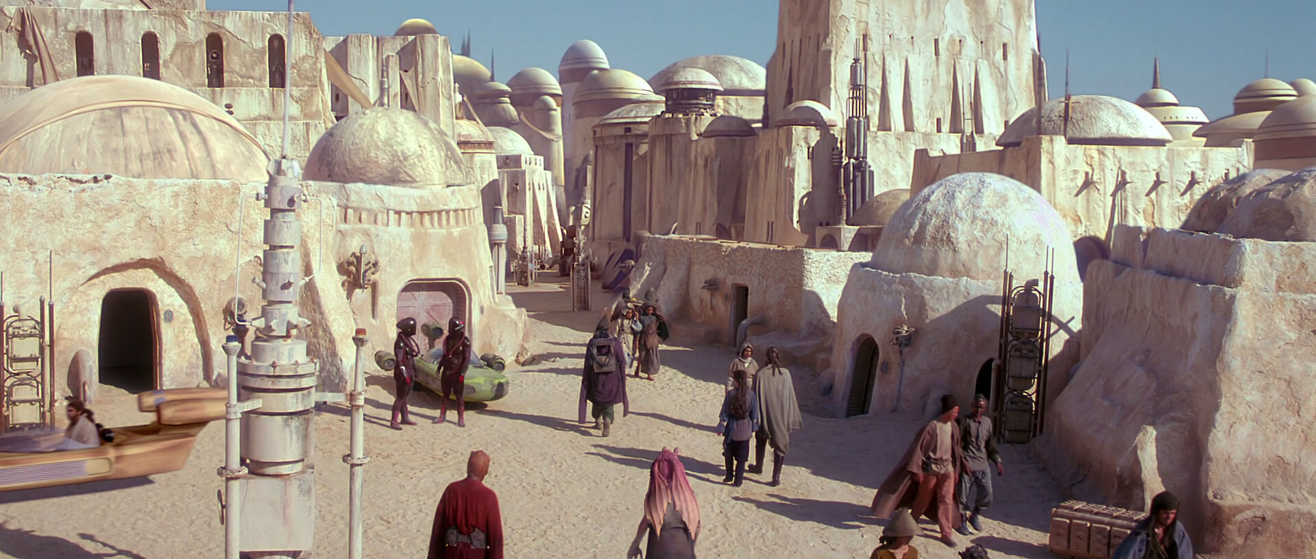 The ruins of Tunisia, as seen in a Star Wars movie | Yeezy Home by Kanye West | STIRworld