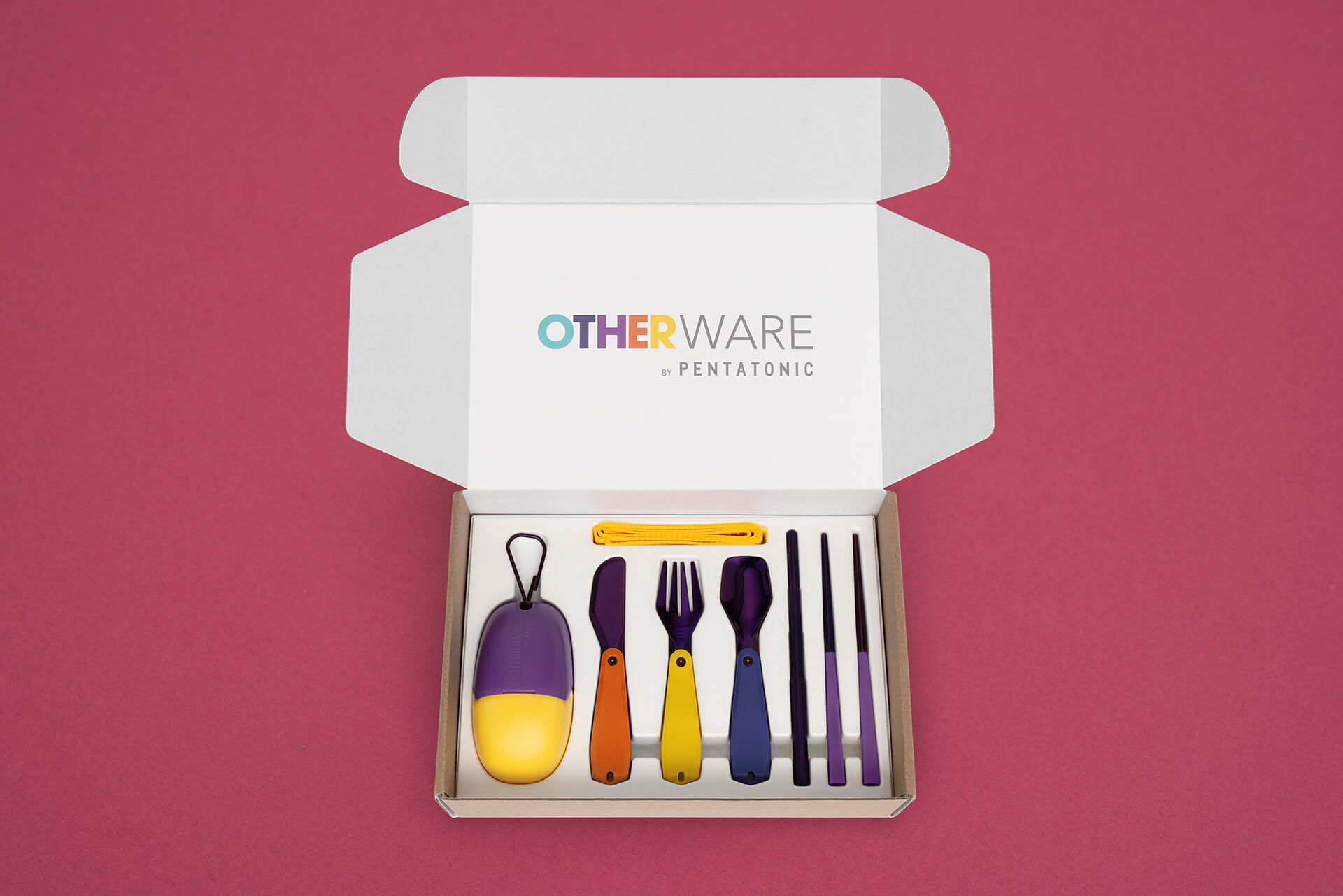 The Pebble from Otherware mobile cutlery set | The Pebble by Otherware created by Pentatonic in collaboration with i am OTHER | STIRworld