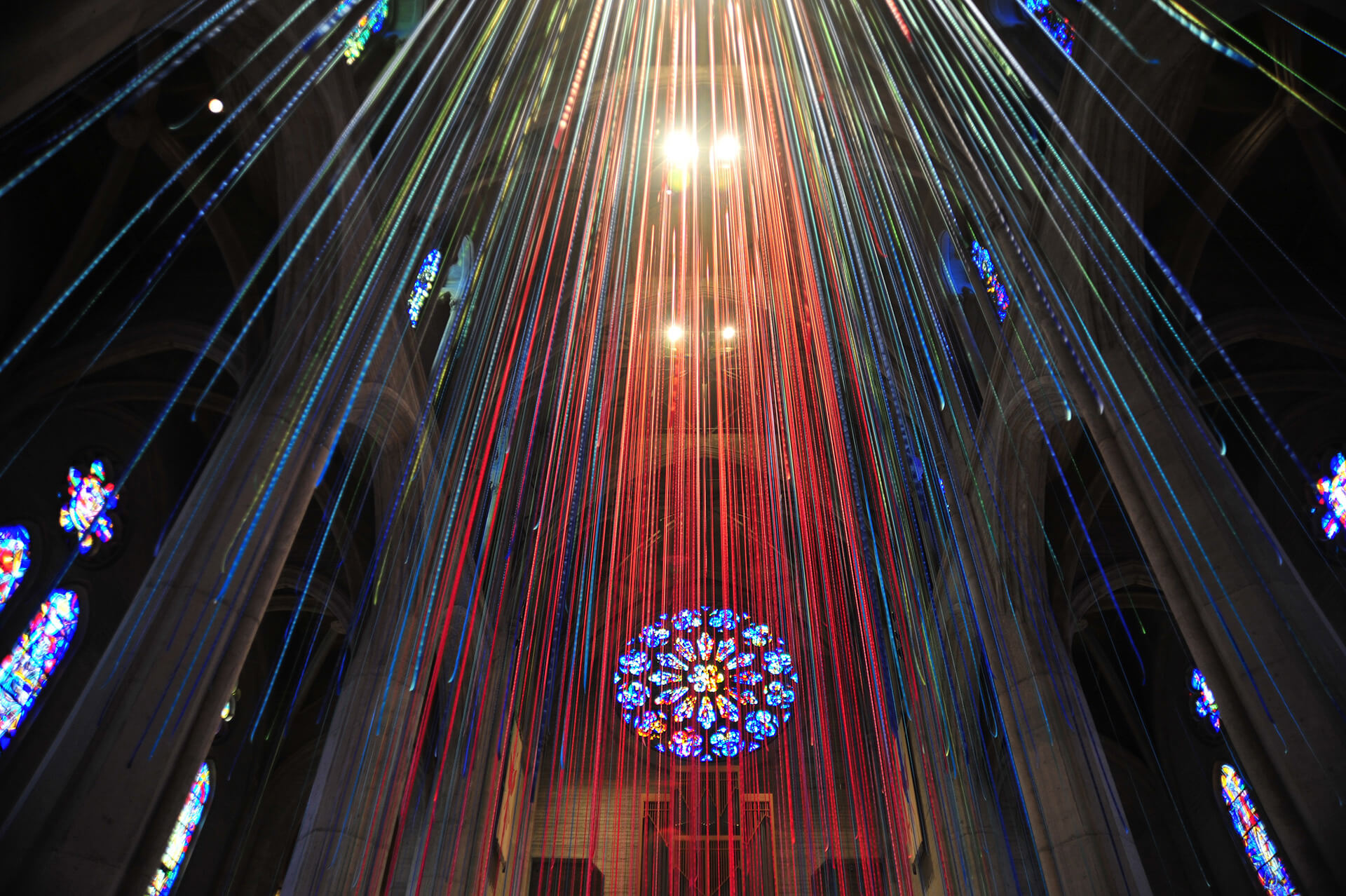 Anne Patterson, 'Graced with Light', Grace Cathedral, SF, 2013 | Graced With Light | Anne Patterson| STIRworld