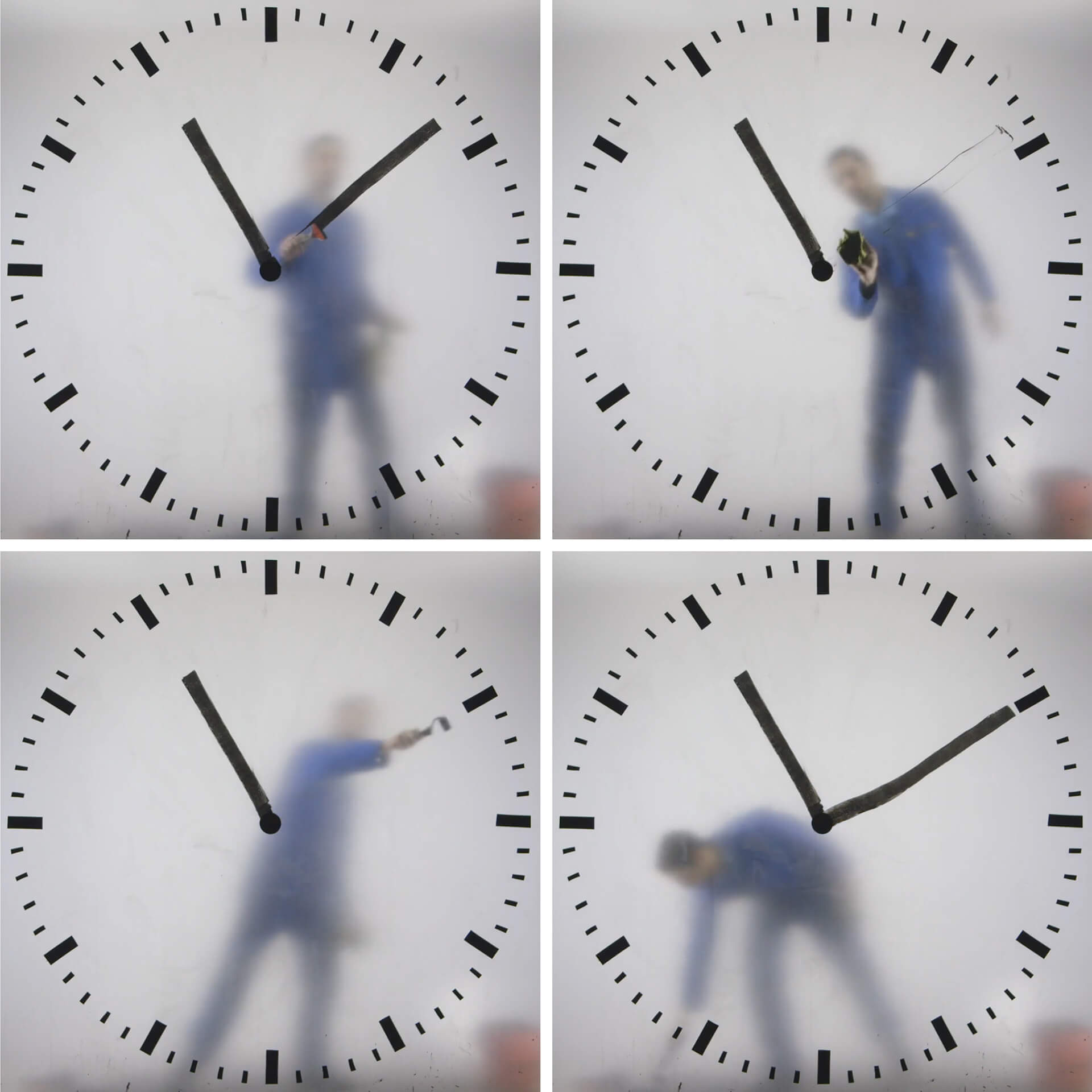 Schiphol Clock created by Dutch artist and designer Maarten Baas in 2016 | STIRworld