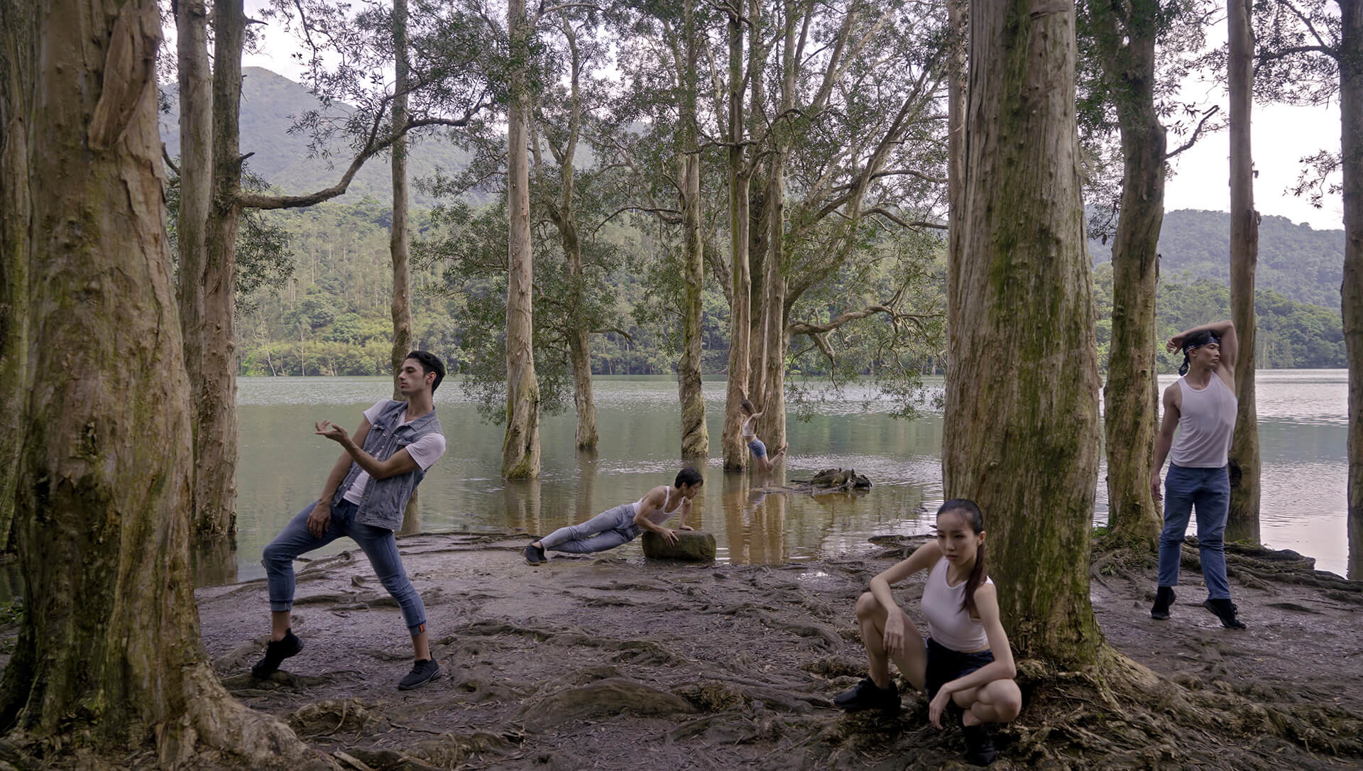 A still from the film Lying Together, which was filmed in rural and urban settings across Hong Kong by Derrick Fong | Corey Baker Dance | STIRworld