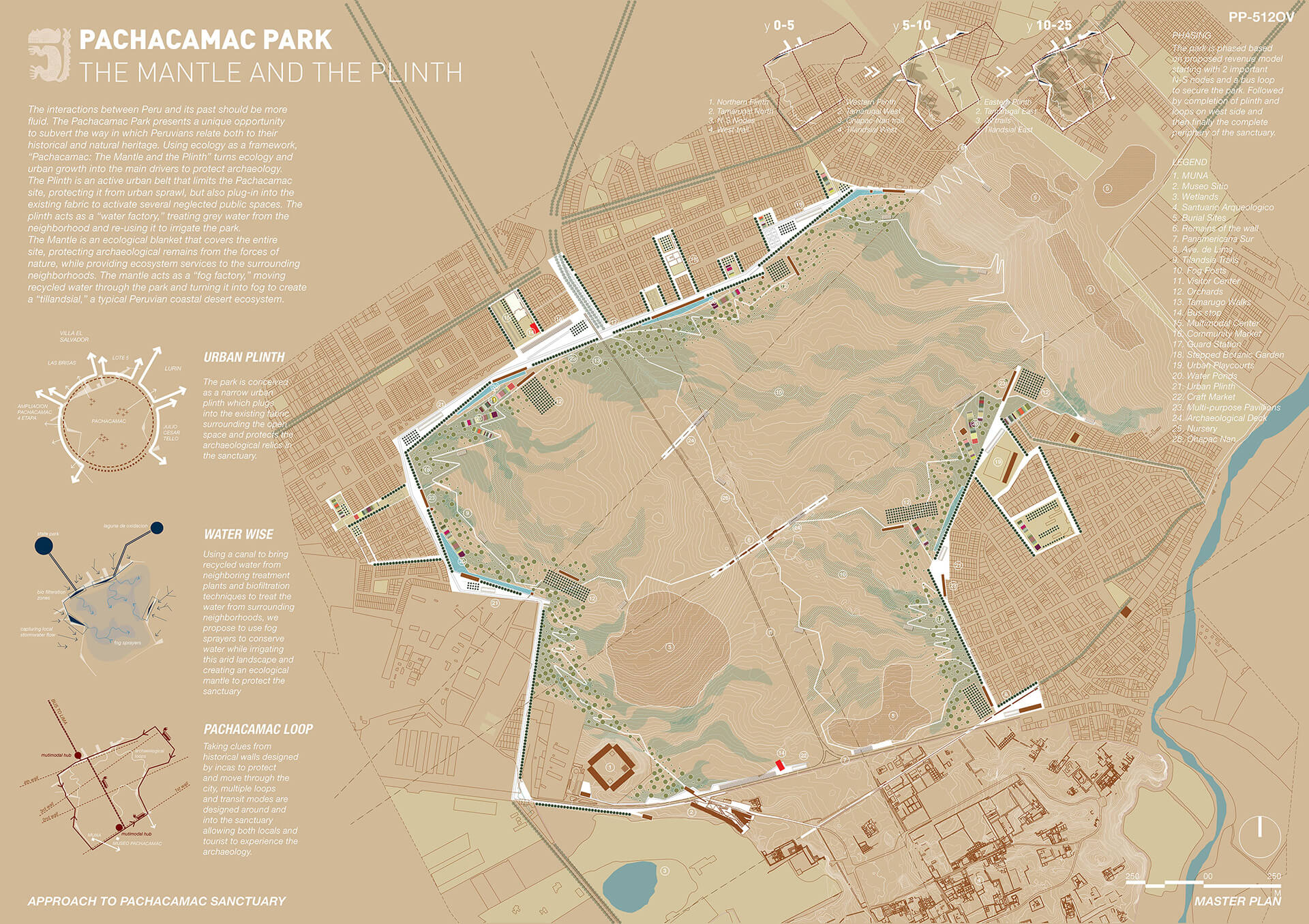 'Parque Pachacamac: The Mantle and the Plinth', the winning proposal for the design of a public park in Pachacamac, Lima | Parque Pachacamac: The Mantle and the Plinth | Alfaro Lachhwani McKay | STIRworld