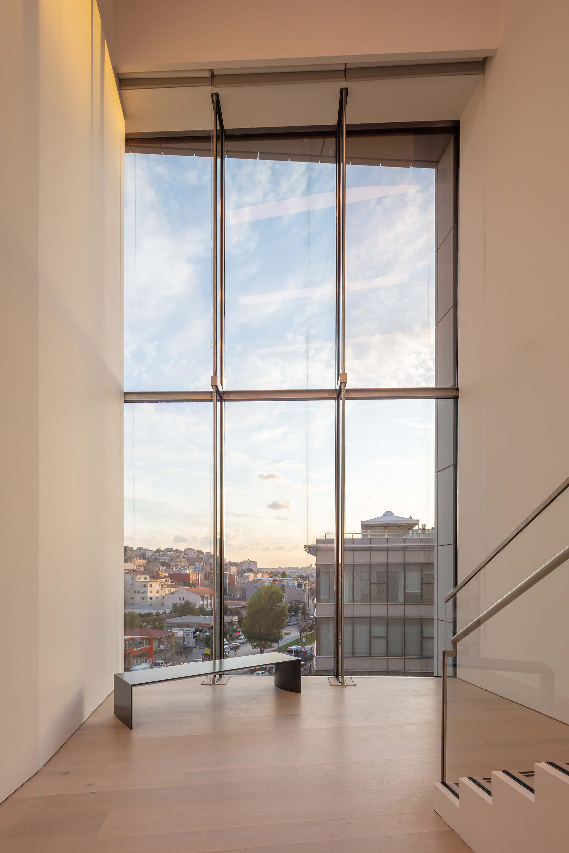 View towards the city | Arter Contemporary Art Museum by Grimshaw Architects | STIRworld