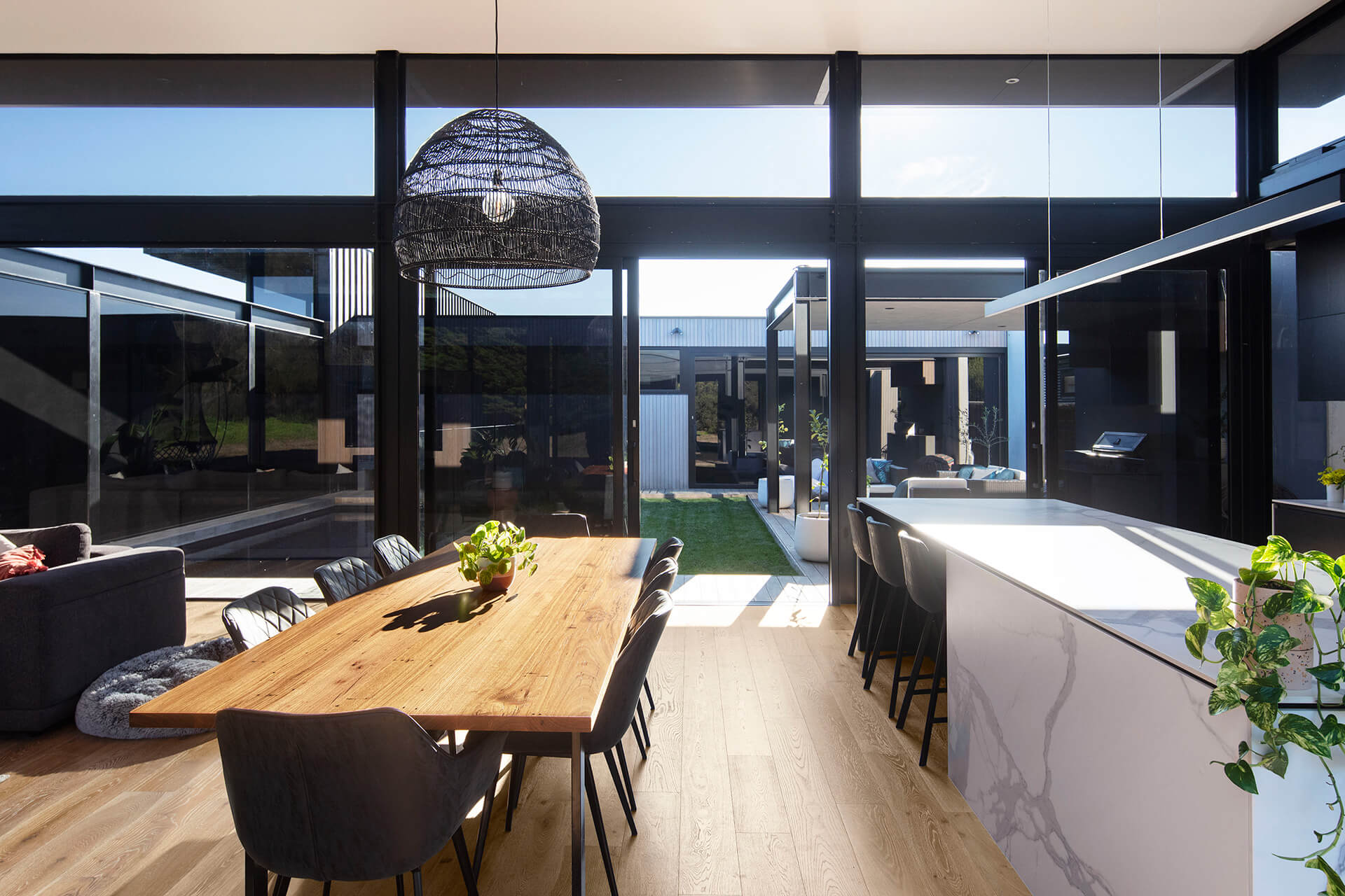 The kitchen and dining area | Cashmore House | Lachlan Shepherd Architects | STIRworld