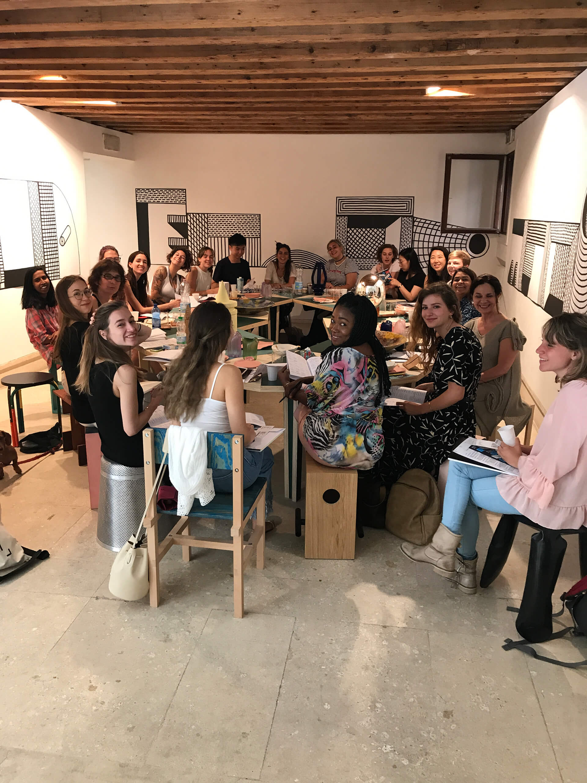 The participants for School for Curatorial Studies Venice (2018) | Venice reopens post COVID-19 lockdown | STIRworld