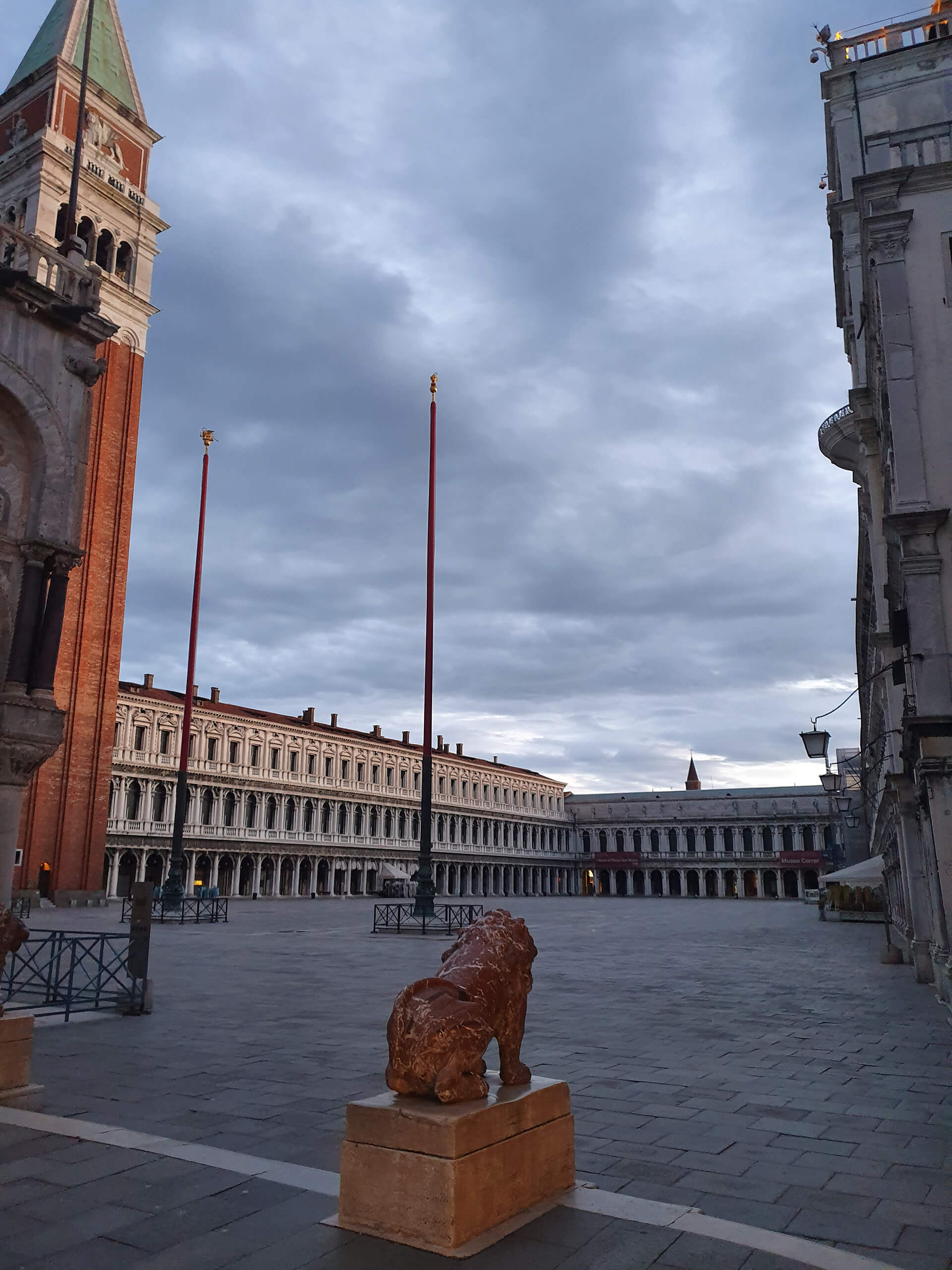 San Marco Piazza during the Venetian lockdown | Venice reopens post COVID-19 lockdown | STIRworld