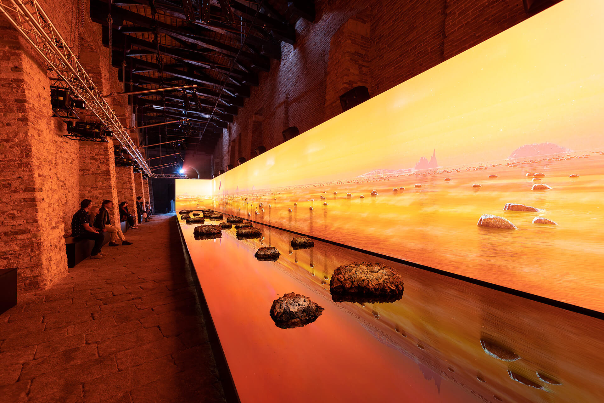 View of the 'Living Rocks' installation at the Venice Art Biennale 2019 | Venice reopens post COVID-19 lockdown | STIRworld