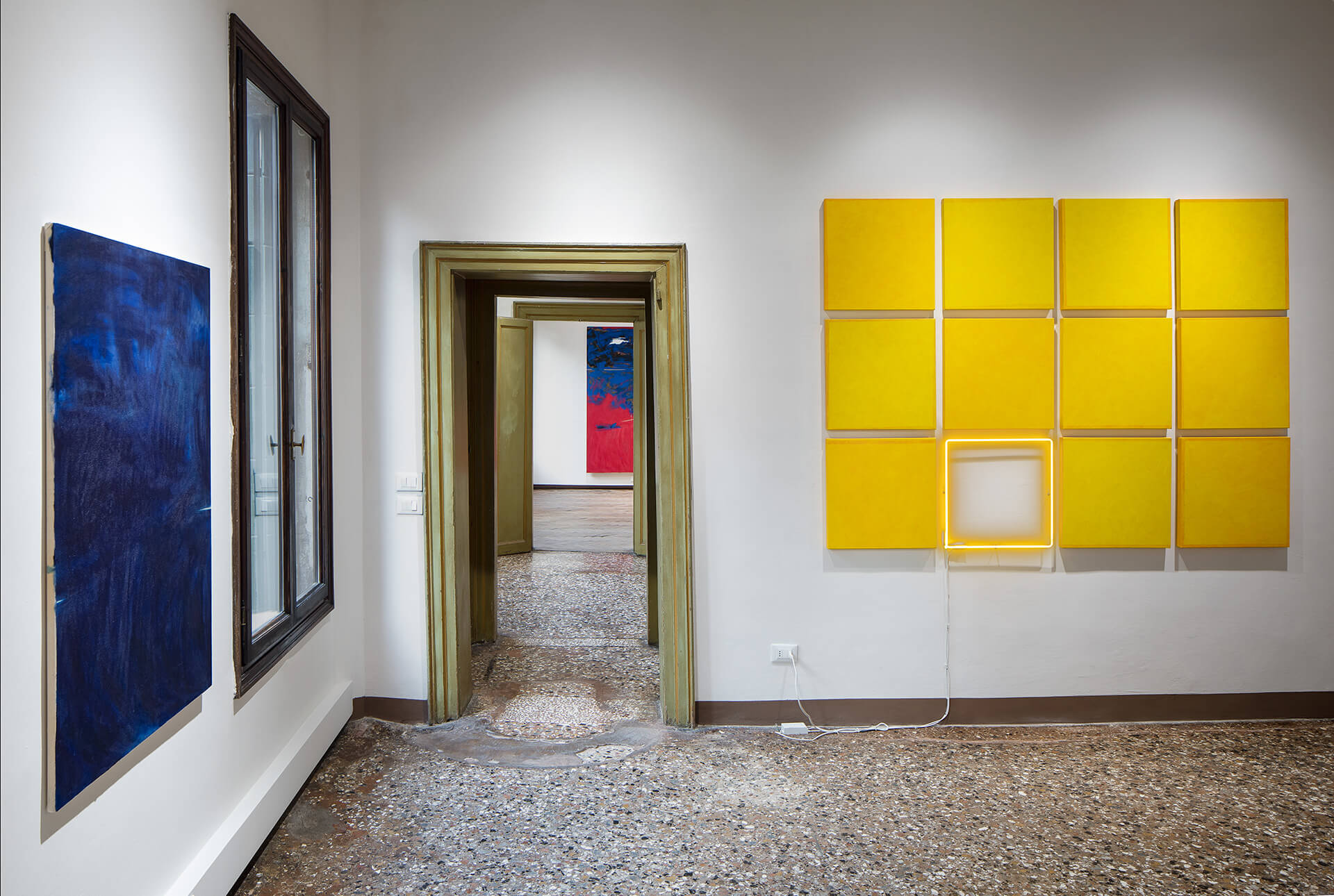 Installation view of an exhibition of three contemporary Italian artists | Venice reopens post COVID-19 lockdown | STIRworld