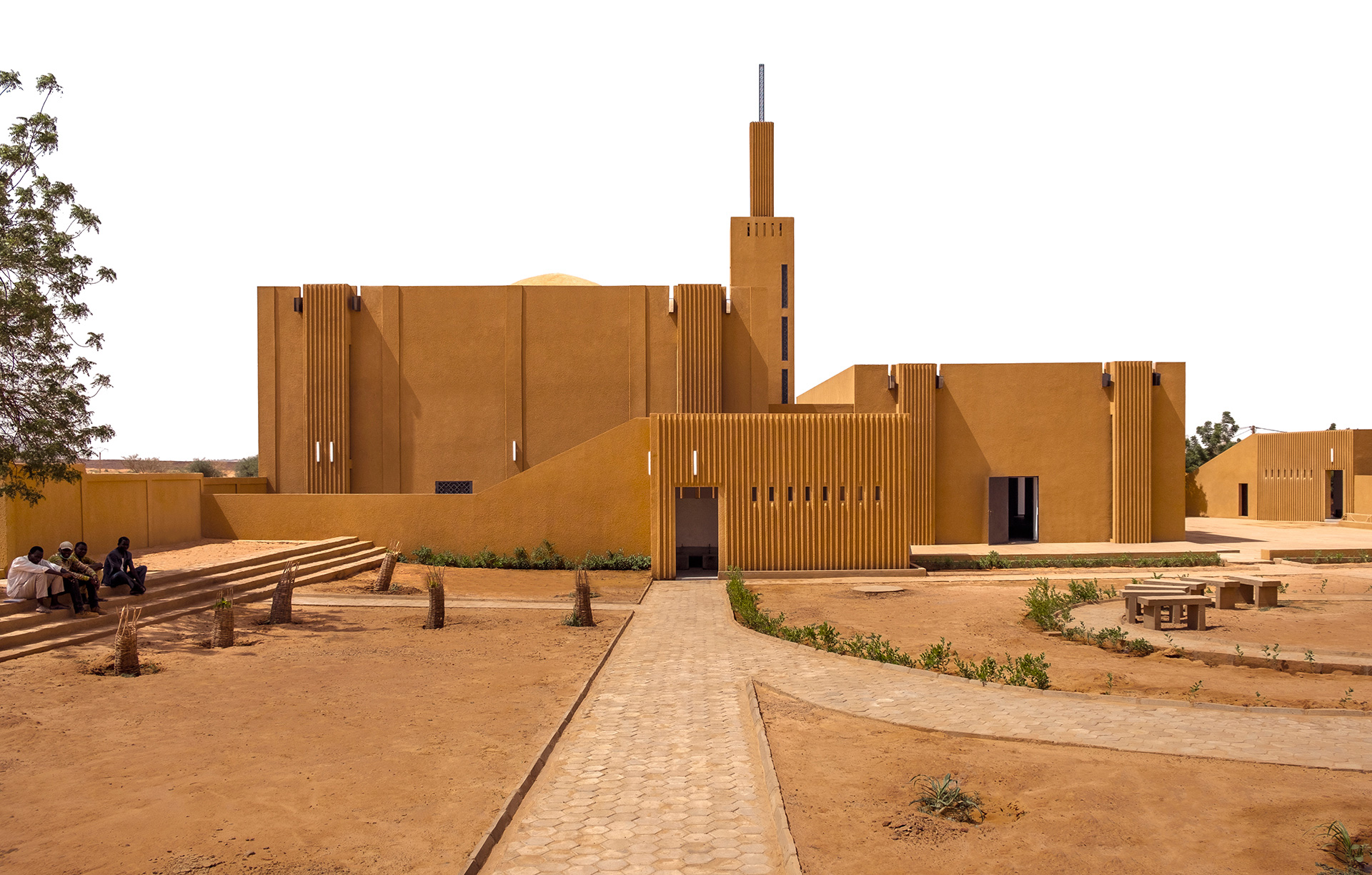 Religious Secular Complex at Dandaji, Niger, completed 2018 by Atelier Massomi, contender for RA Dorfman Award | Mariam Kamara | Atelier Massomi| Royal Academy of Arts Architecture Awards| STIR