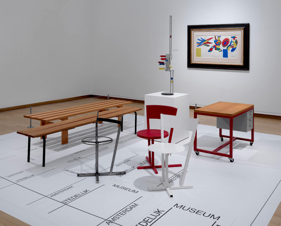 A selection of pieces exhibited at the Stedelijk Museum | From Thonet to Dutch Design – 125 years of living at the Stedelijk Museum Amsterdam | STIRworld