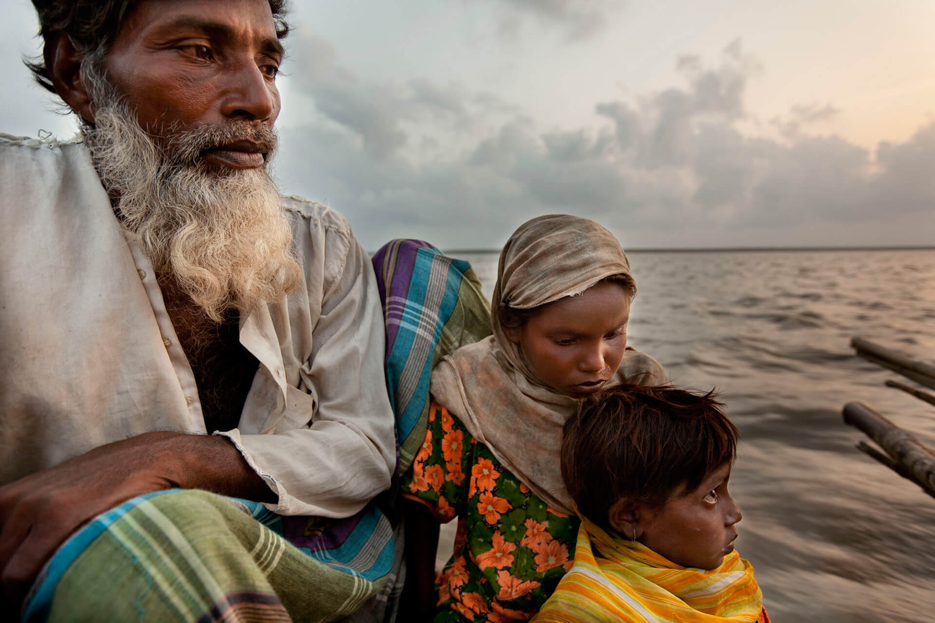 Climate refugees from the char areas in river Brahmaputra look for safer shelter | World Photography Day | STIRworld