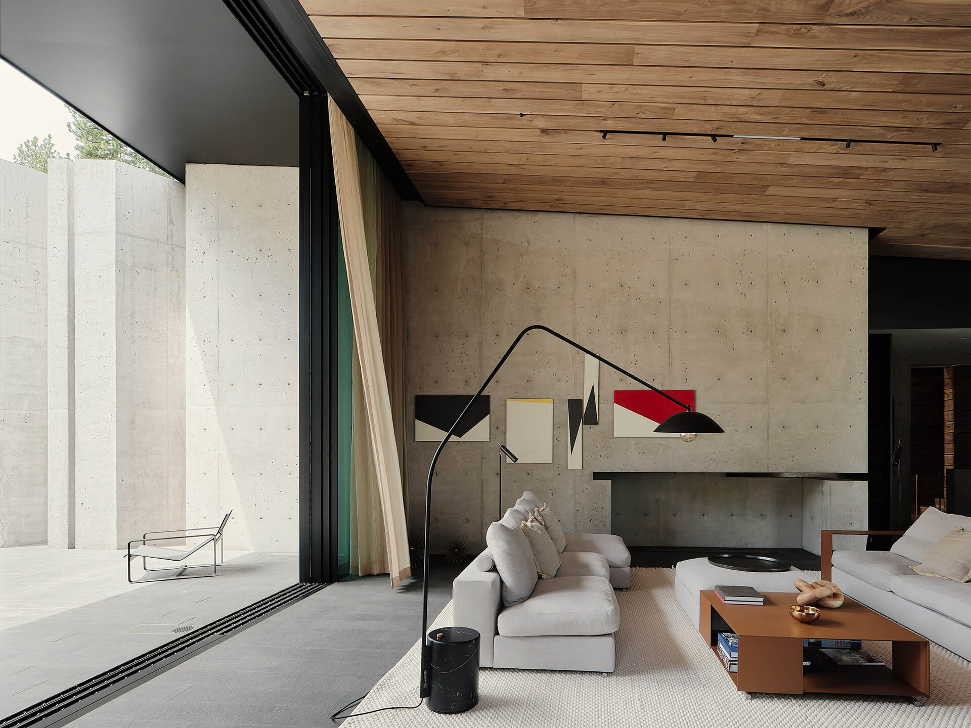 Double height living space | Lookout House by Faulkner Architects | STIRworld