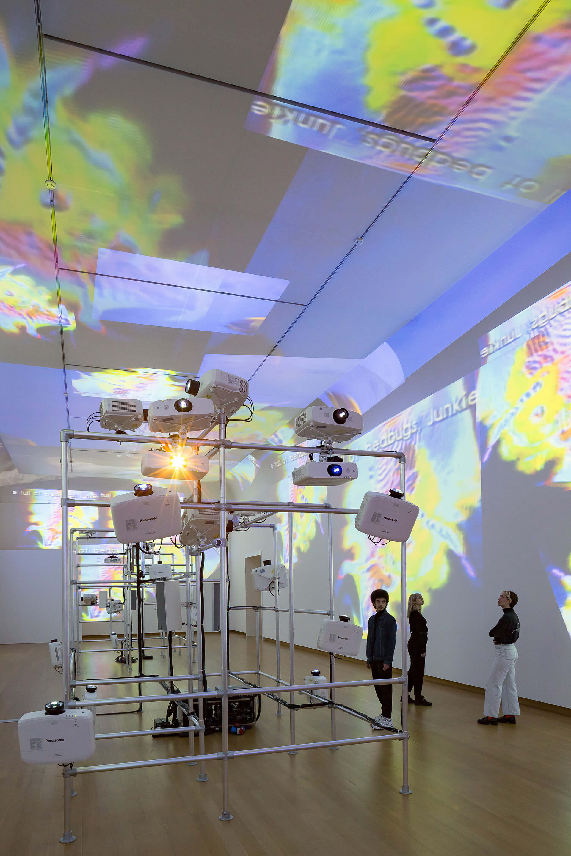 'Sistine Chapel' by Nam June Paik using multiple projectors is also a part of The Future Is Now | The Future Is Now by Nam June Paik | STIRworld