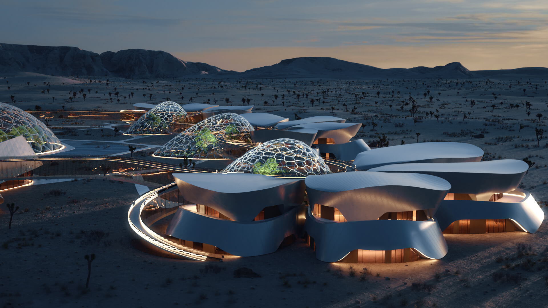 Fluid forms give shape to the functional stations| EBIOS by Interstellar Lab | STIRworld