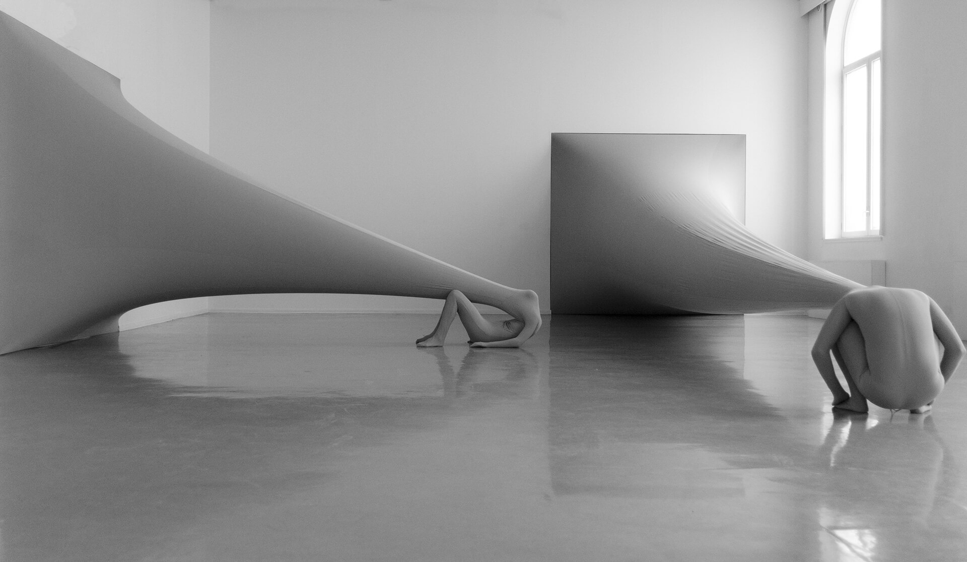 Squared Elasticity - Strained Sculpture by Malin Bulow | Squared Elasticity - Strained Sculpture by Malin Bulow | STIRworld