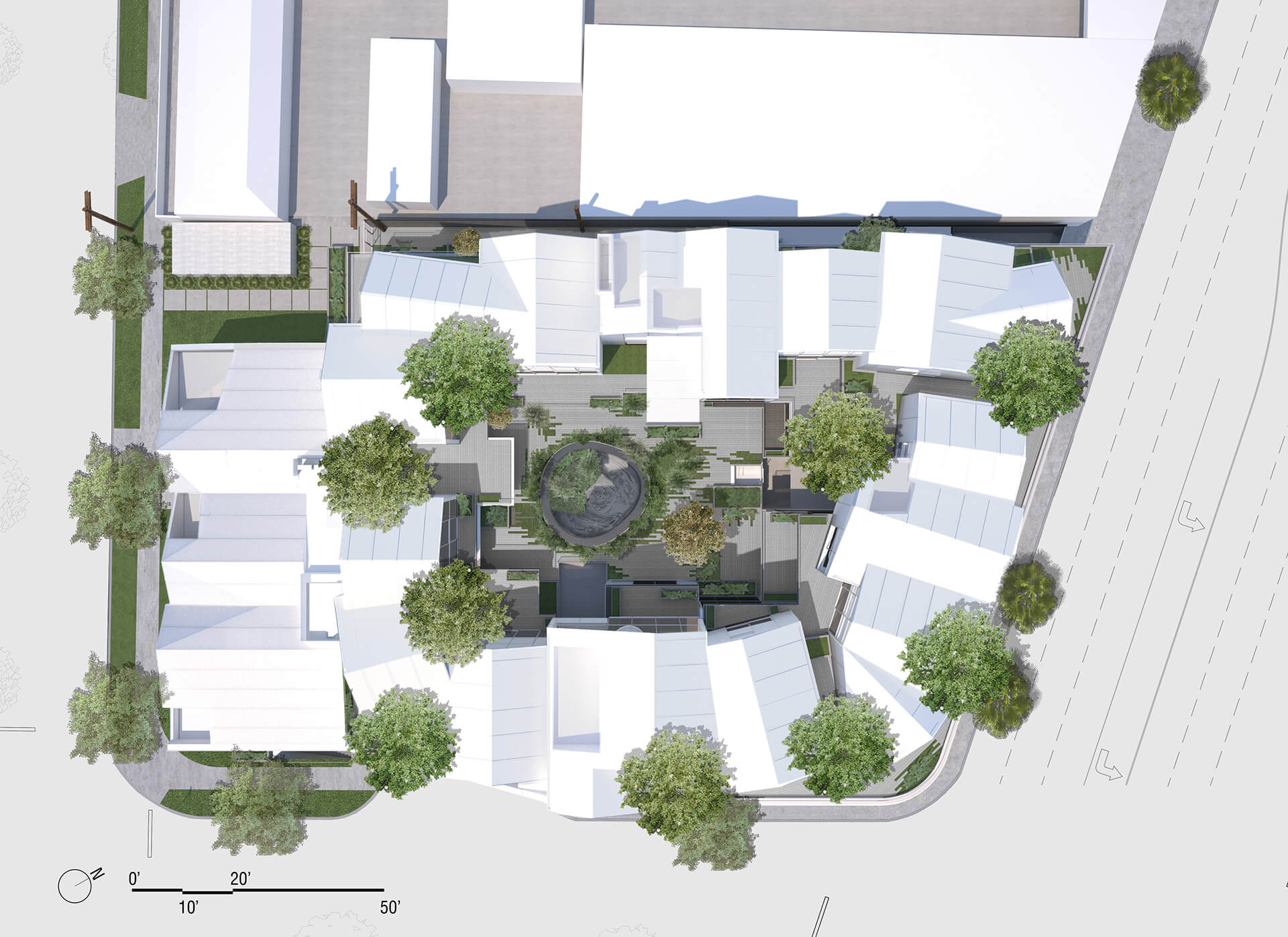Site Plan | Gardenhouse by MAD Architects | STIRworld
