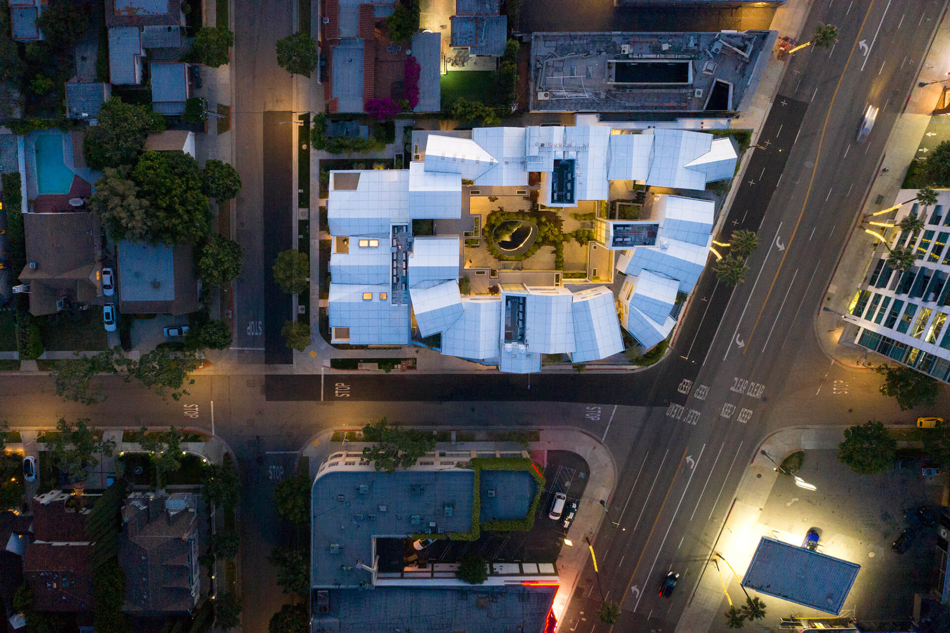 The aerial view of Gardenhouse  | Gardenhouse by MAD Architects | STIRworld