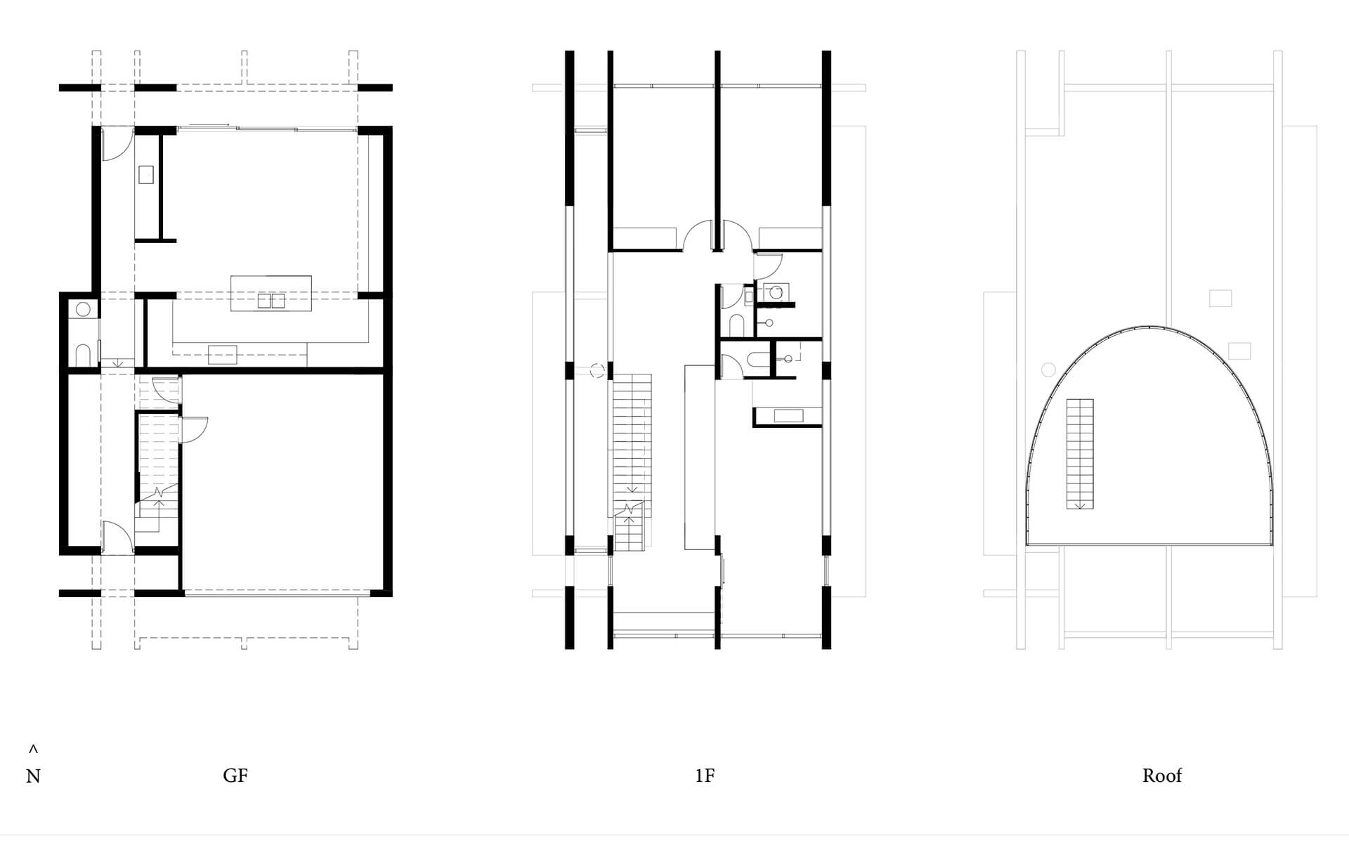 Floor plans of the North Perth House | North Perth House by Nic Brunsdon | STIRworld