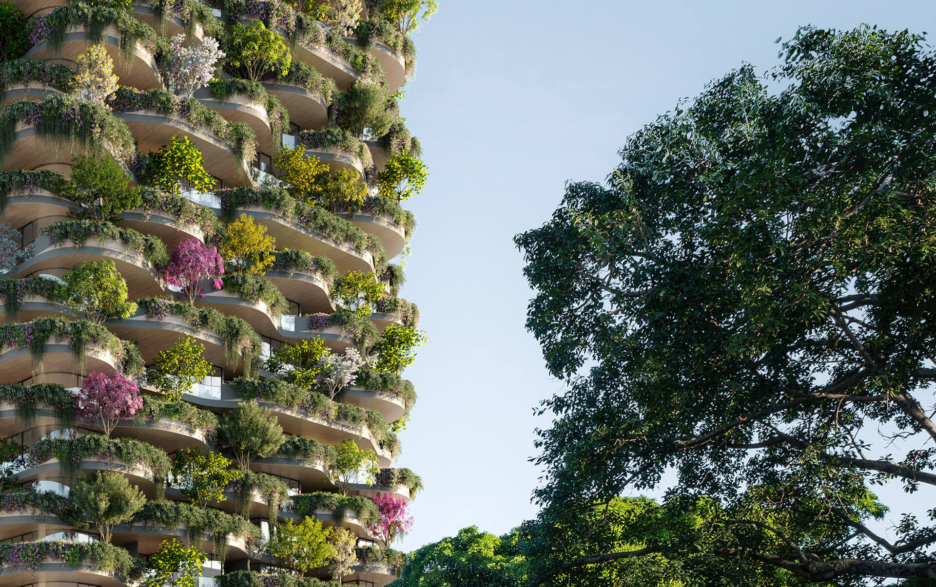 Living greenery on the façade is an integral component of the design | Urban Forest by Koichi Takada Architects | STIRworld