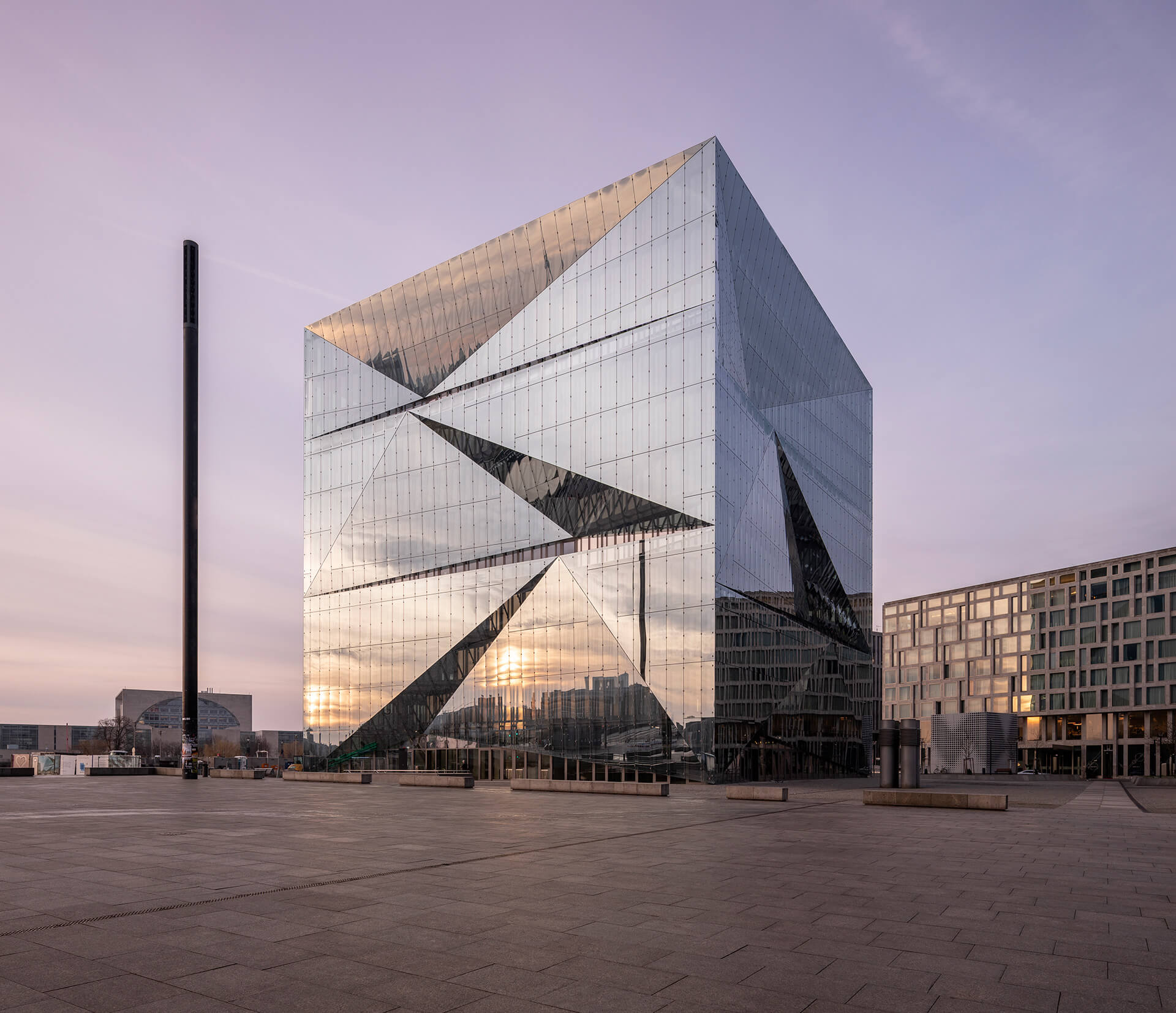 cube berlin is an efficient, smart building | cube berlin designed by 3XN | STIRworld