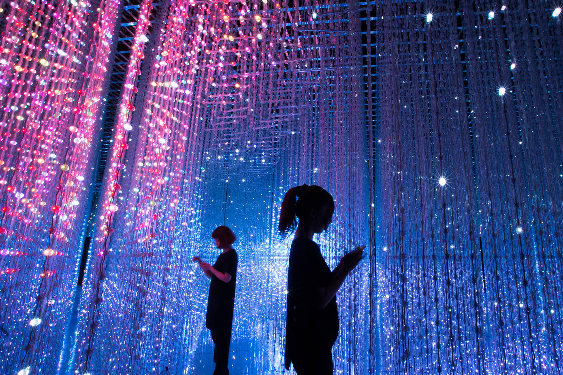 'Interactivity is an important element in the art that teamLab presents, encouraging viewers to engage | Future World by teamLab | STIRworld